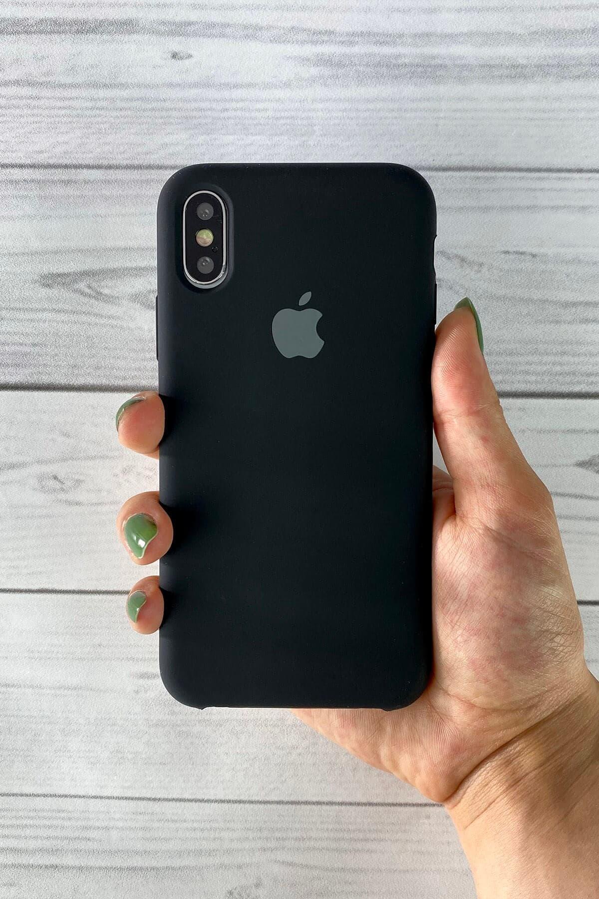 Iphone Siyah Lansman Kılıf Xs-max