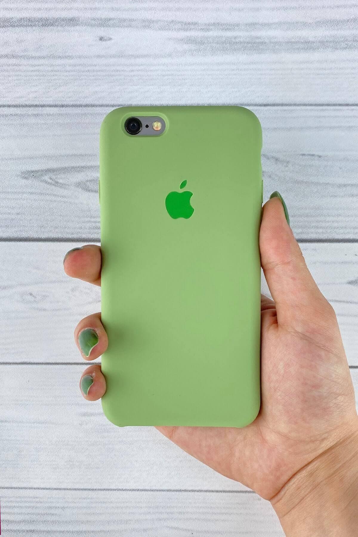 Iphone Yeşil Lansman Kılıf 6/6s