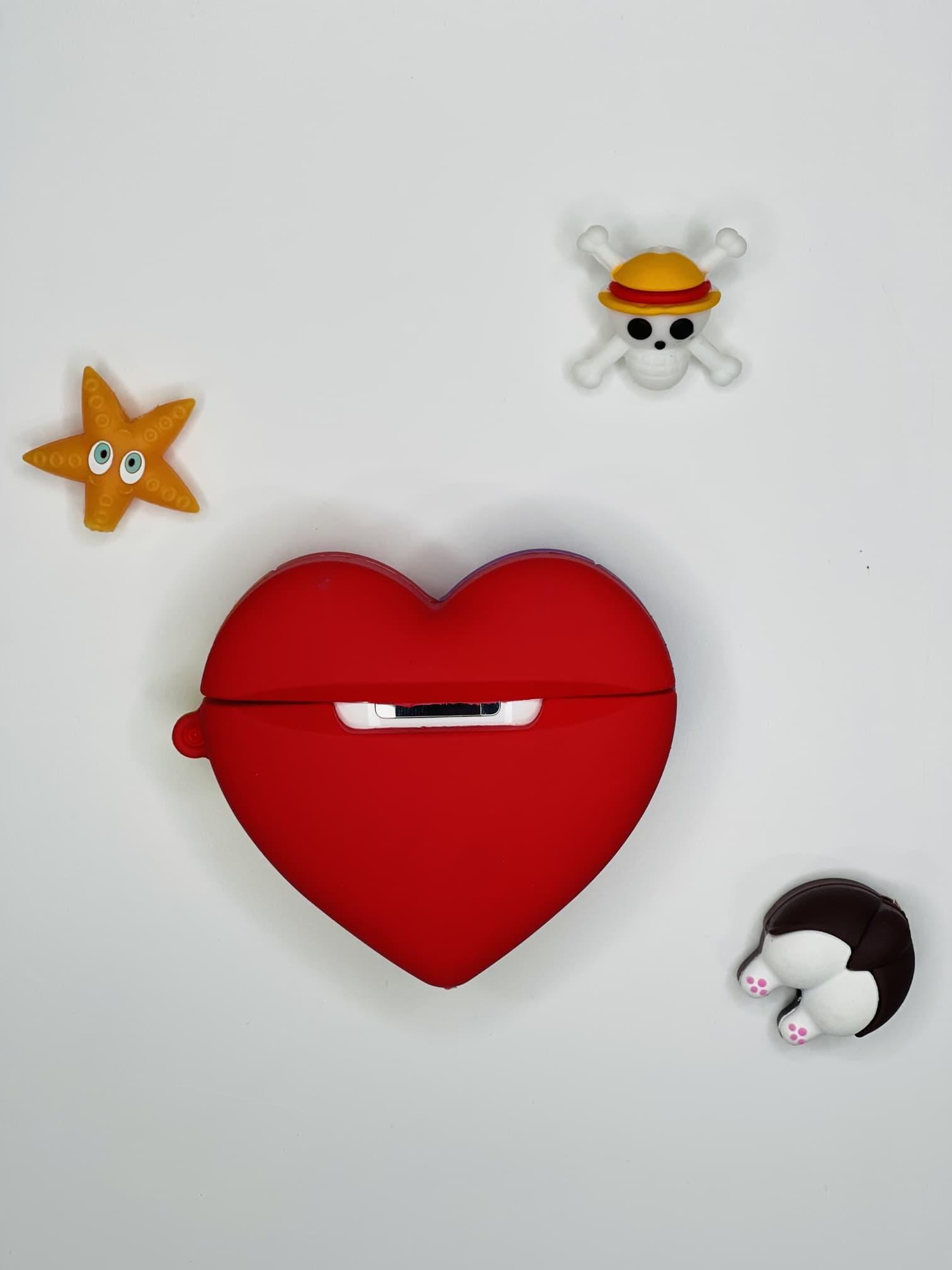 Kalp Figürlü AirPods 2 Kılıfı