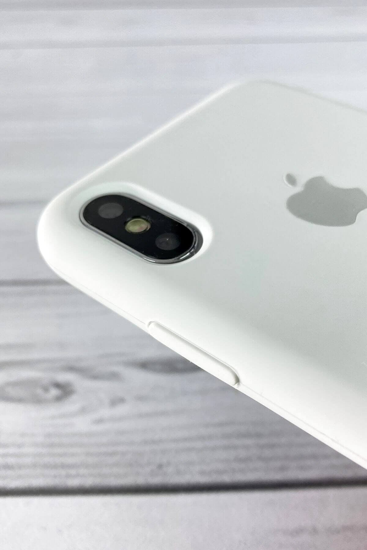 Iphone Beyaz Lansman Kılıf Xs-max