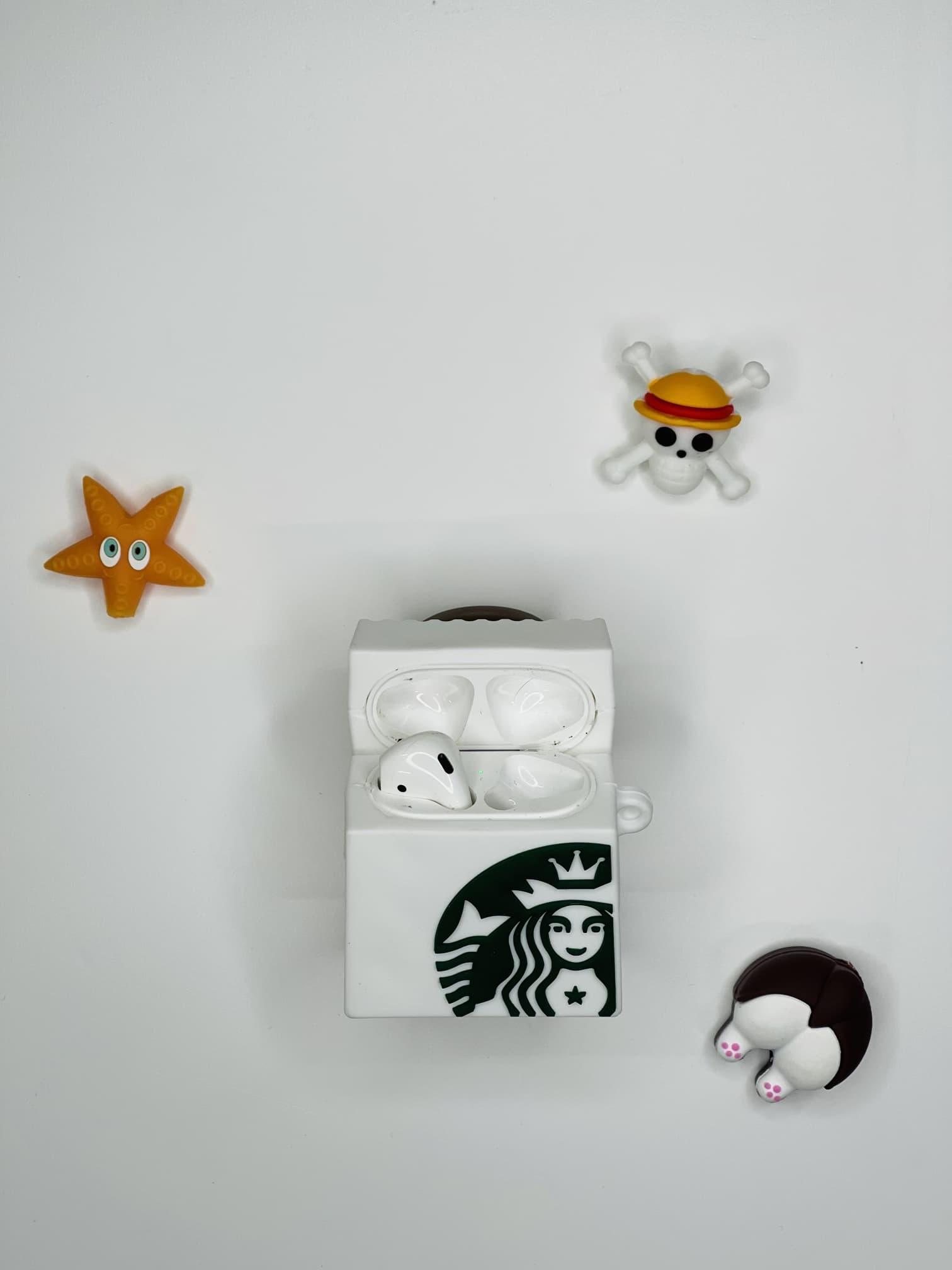 Starbucks Çanta Figürlü AirPods 2 Kılıfı