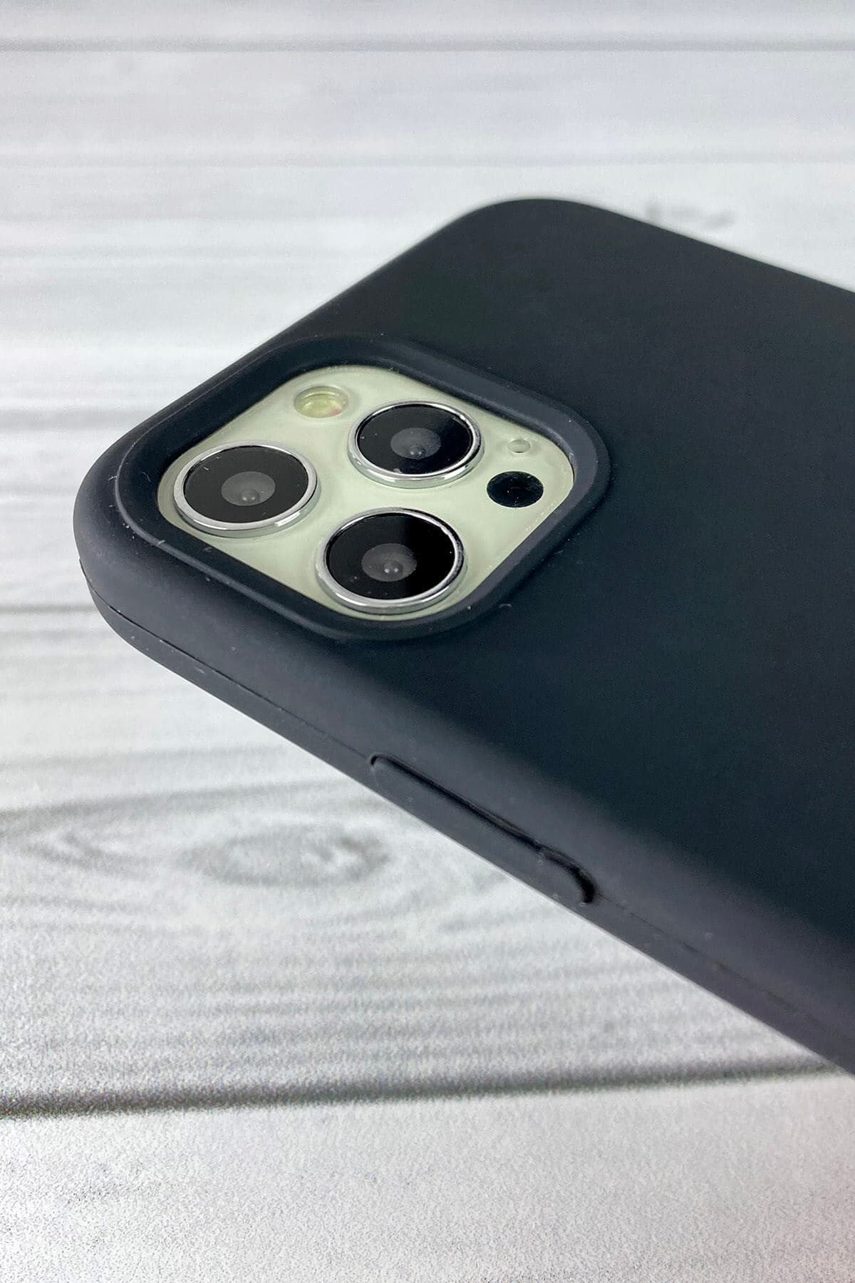 Iphone Siyah Lansman Kılıf 12/12 Pro