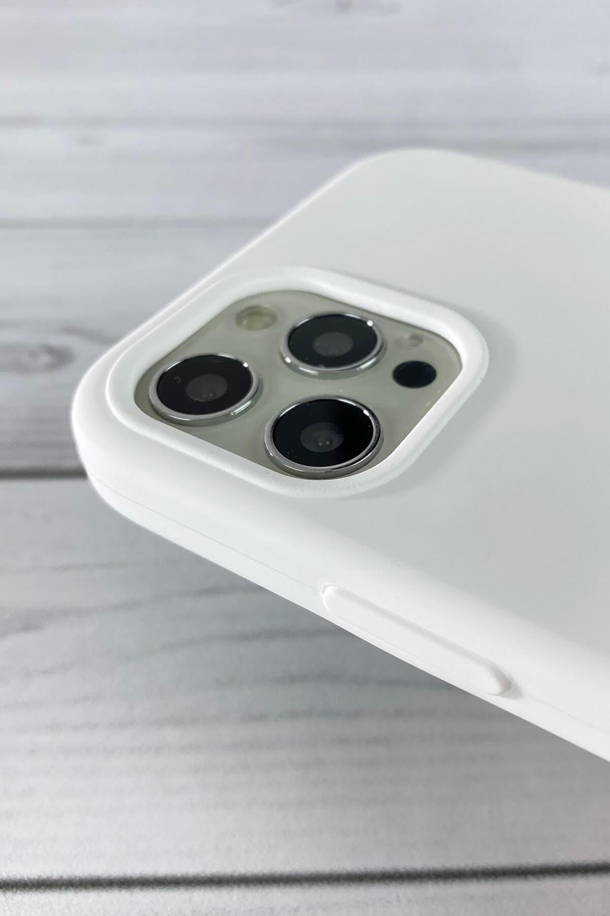 Iphone Beyaz Lansman Kılıf 12 Promax