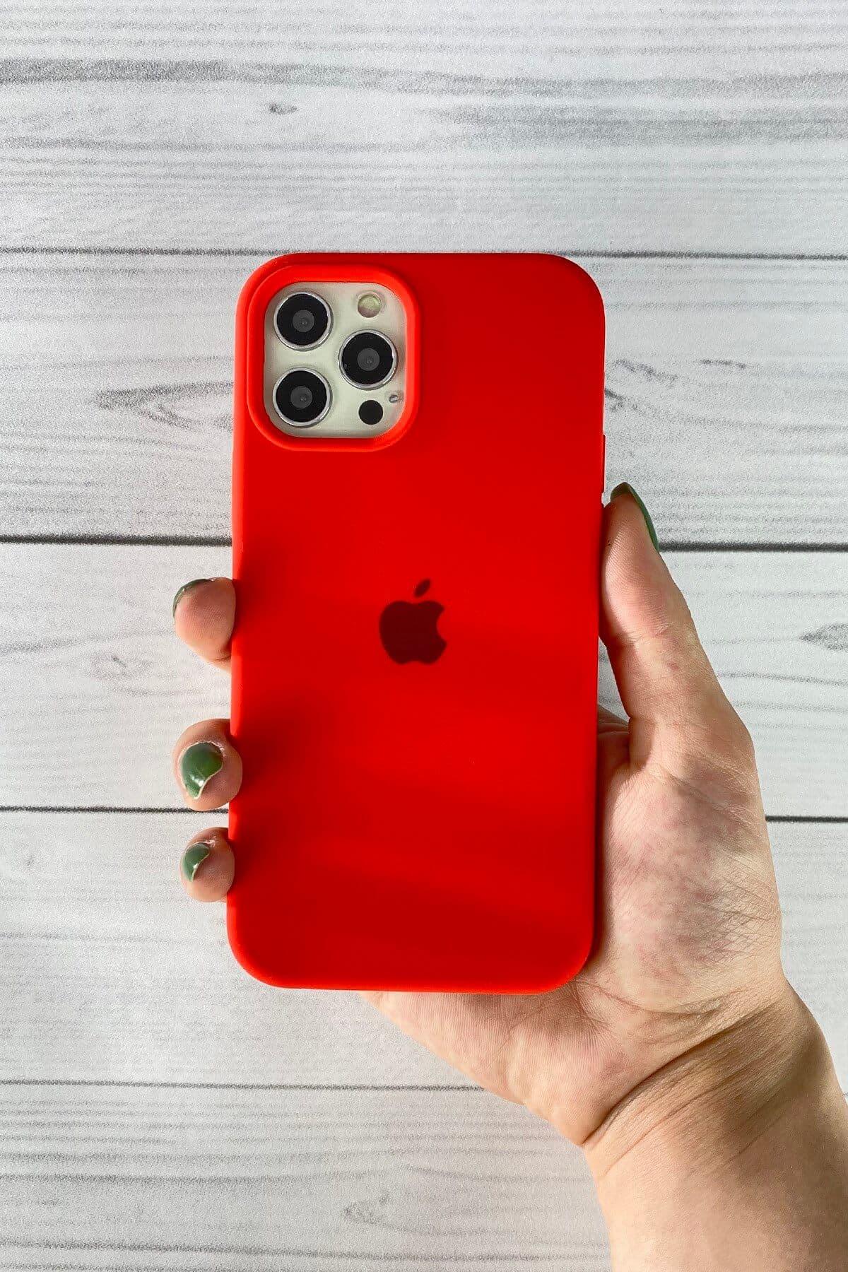Iphone Kırmızı Lansman Kılıf 12 Promax