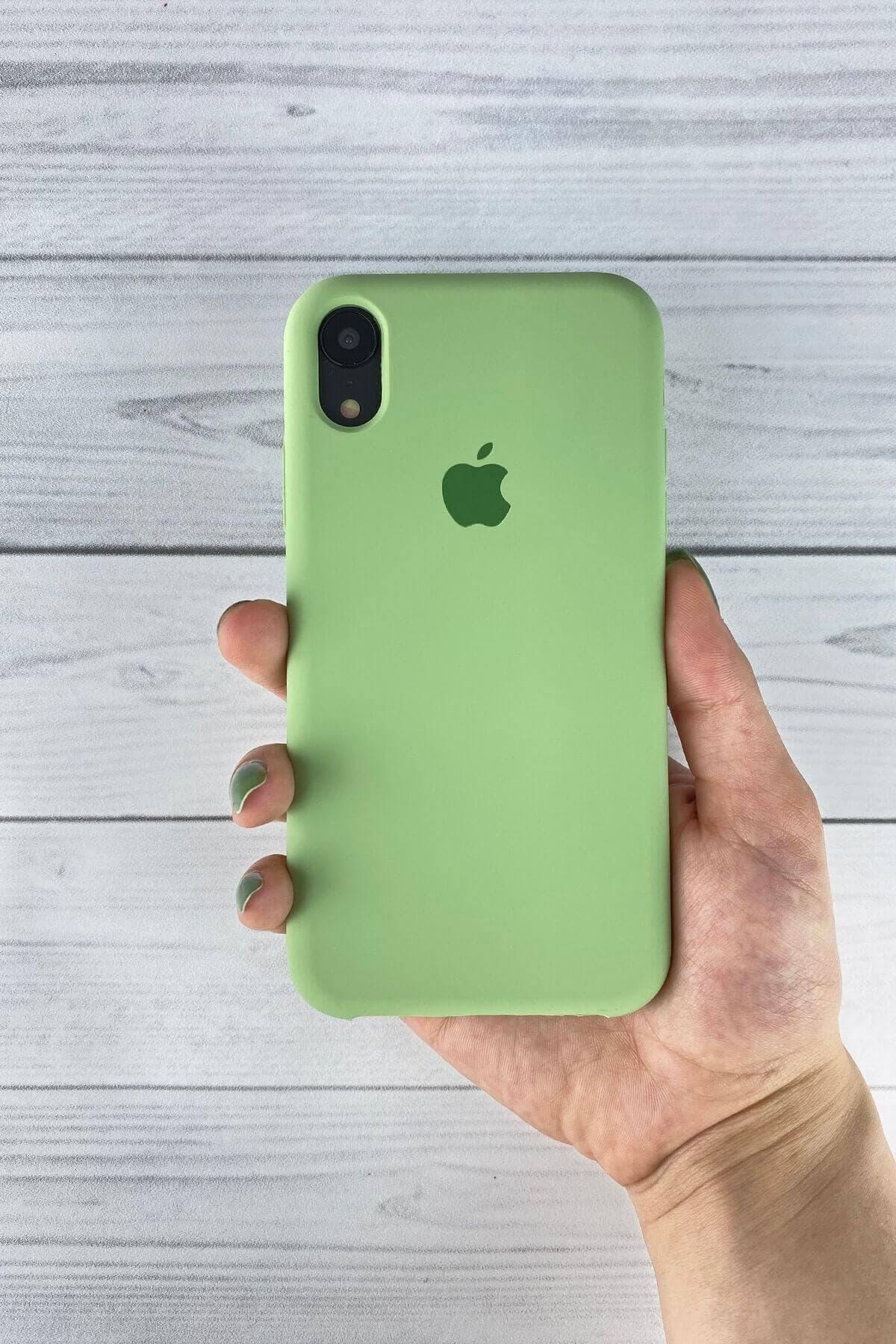 Iphone Fıstık Yeşil Lansman Kılıf Xr