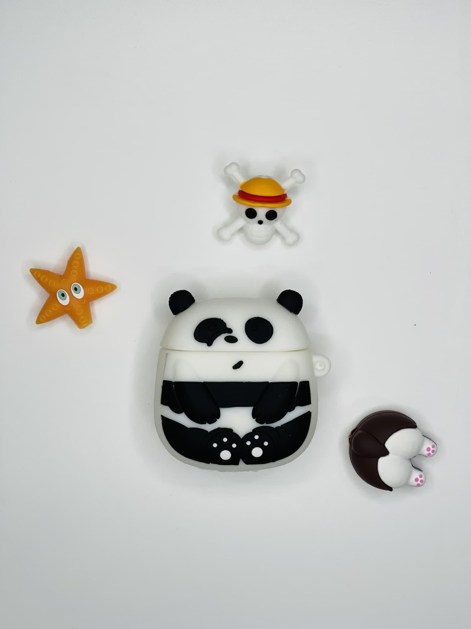 Panda Figürlü AirPods 2 Kılıfı