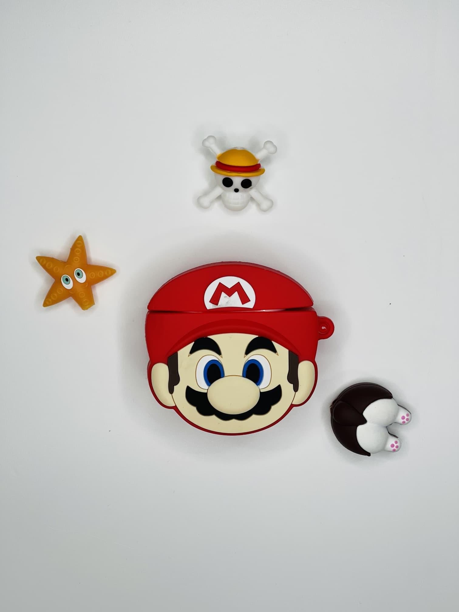 Mario Figürlü AirPods 2 Kılıfı