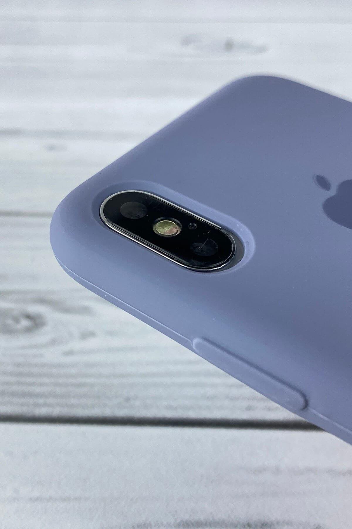 Iphone Lavanta Grisi Lansman Kılıf X/Xs