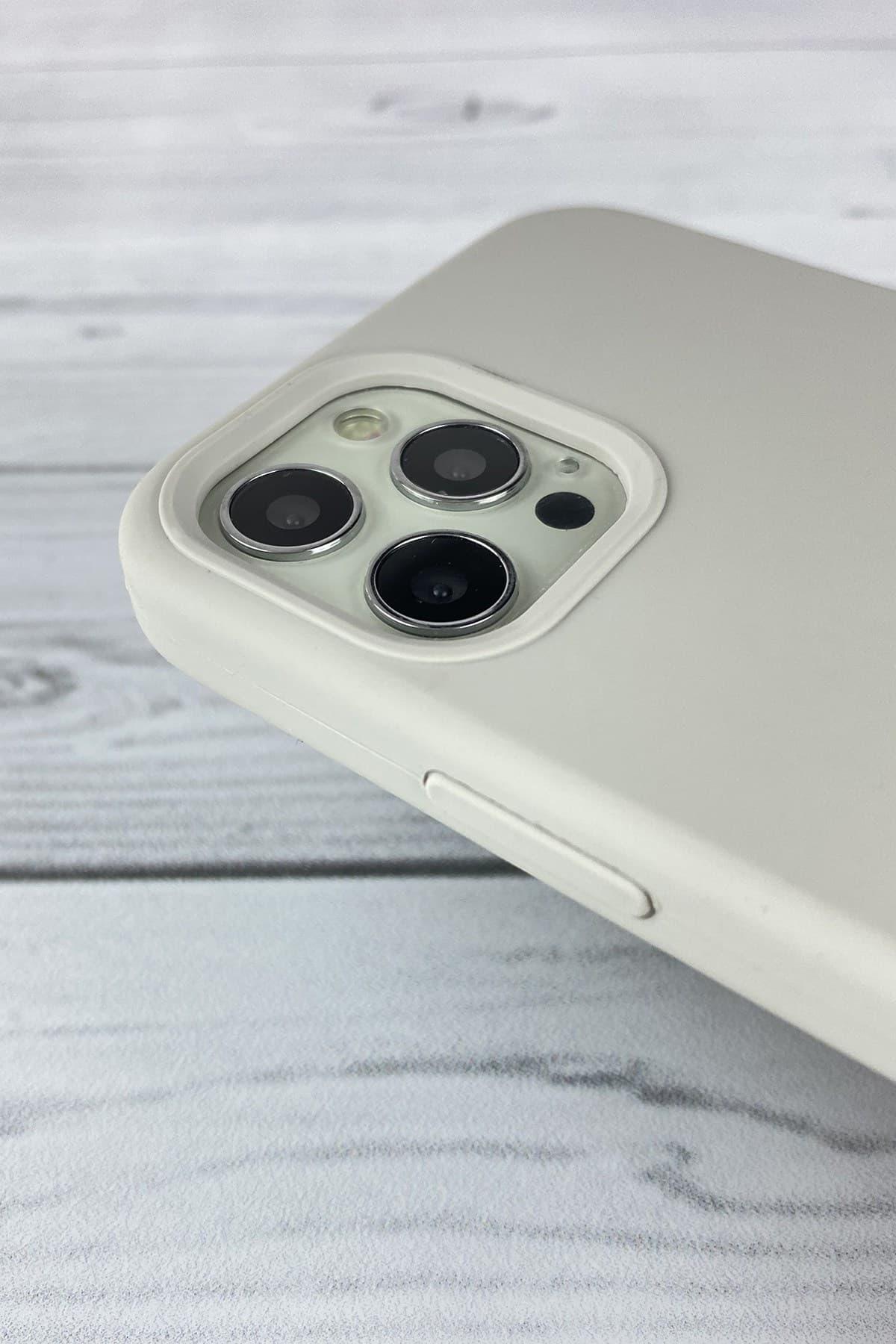 Iphone Gri Lansman Kılıf 12 Promax