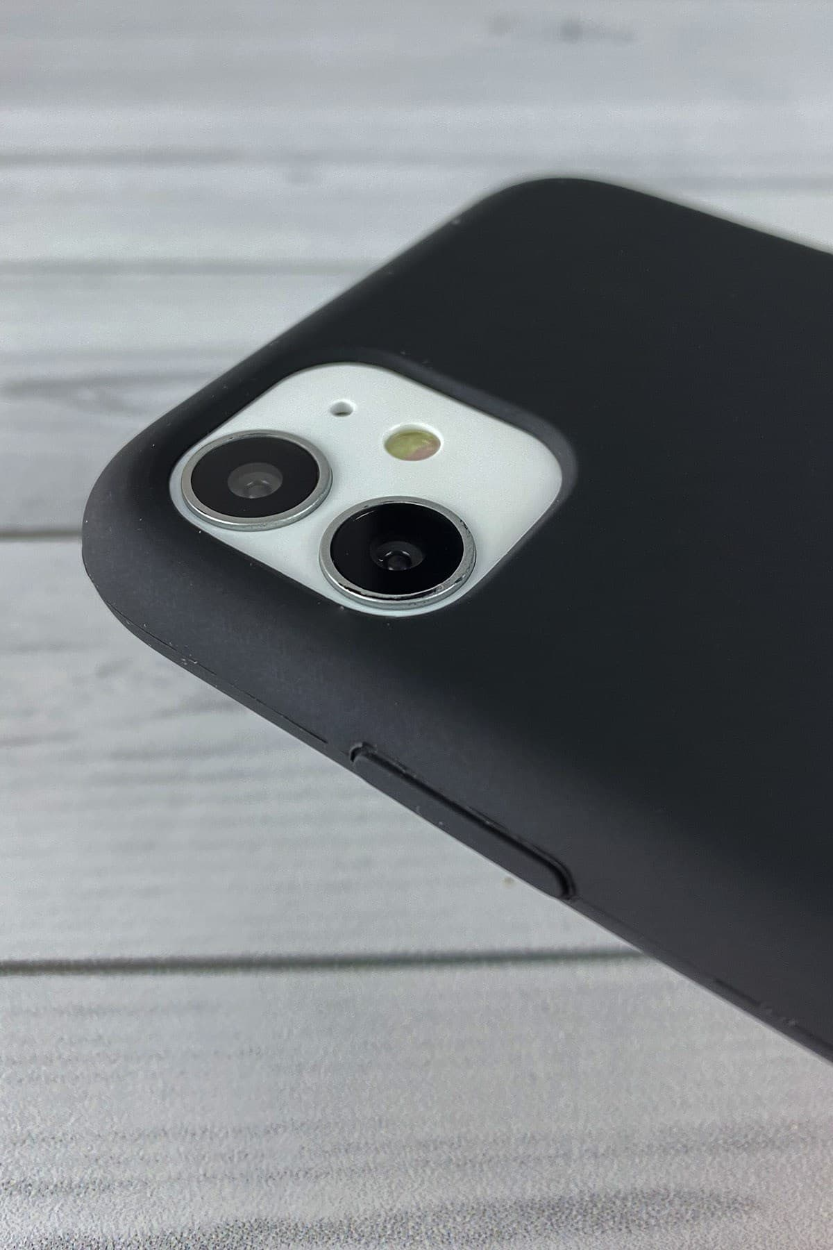Iphone Siyah Lansman Kılıf 11