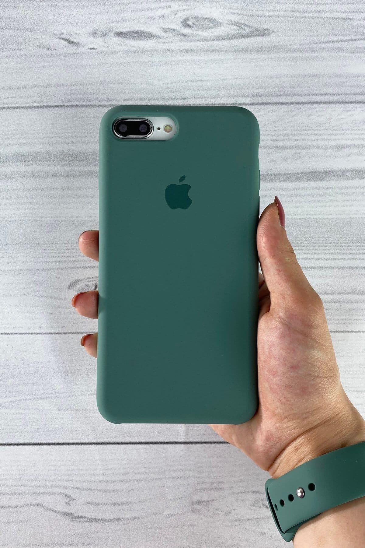 Iphone Çam Yeşili Lansman Kılıf 7 Plus/8 Plus