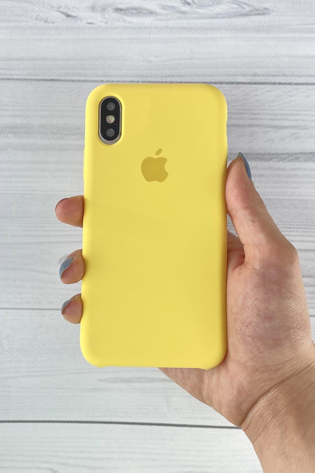 Iphone Sarı Lansman Kılıf X/Xs
