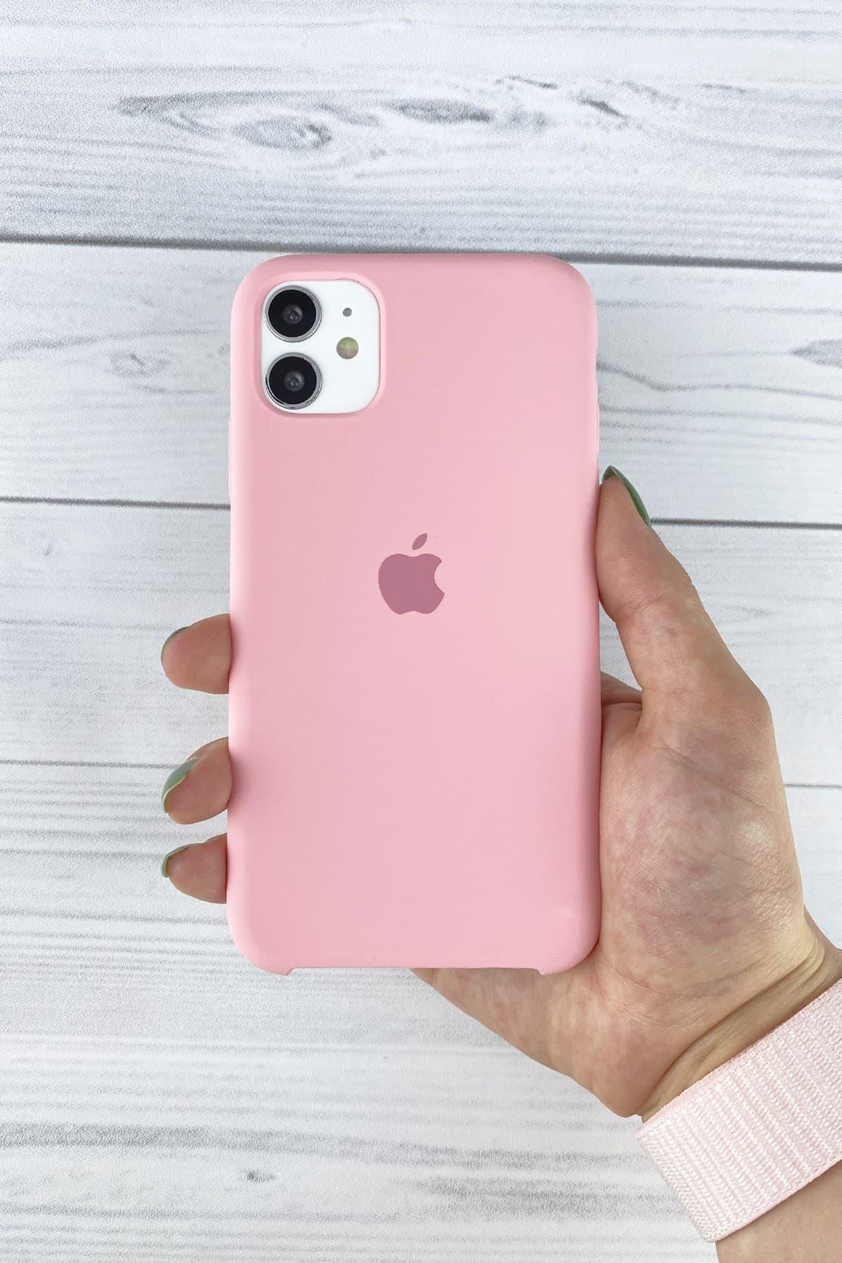 Iphone Pembe Lansman Kılıf 11