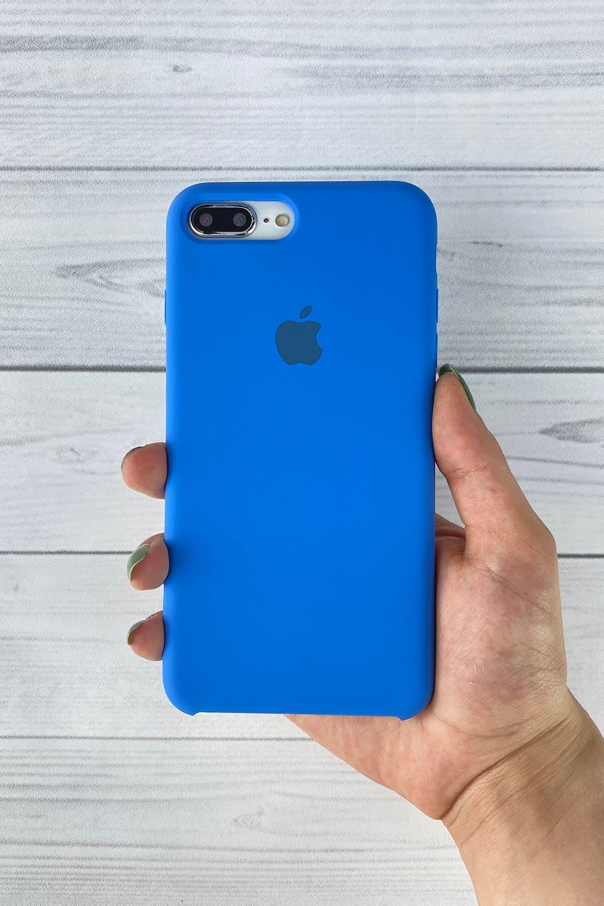 Iphone Mavi Lansman Kılıf 7 Plus/8 Plus
