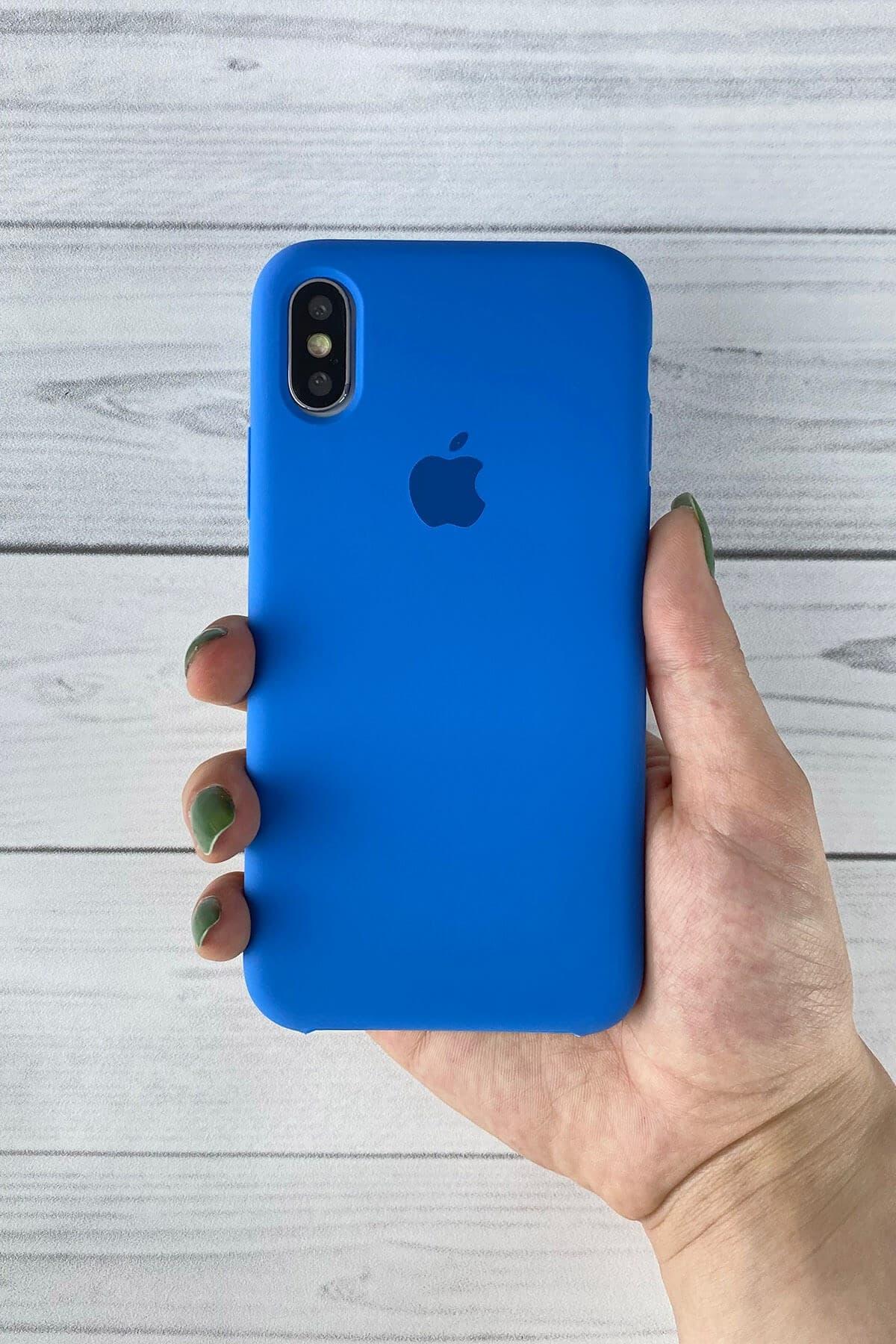 Iphone Mavi Lansman Kılıf Xs-max