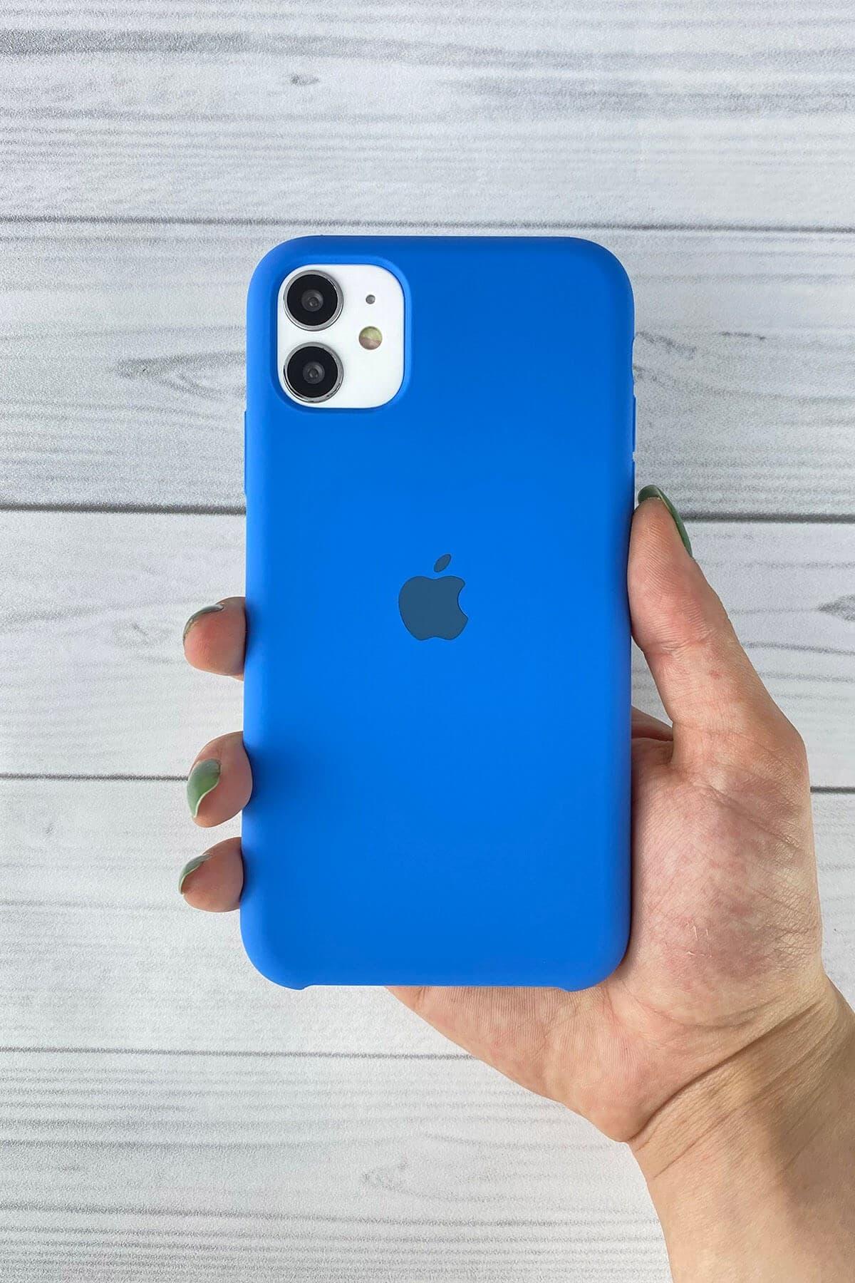 Iphone Mavi Lansman Kılıf 11