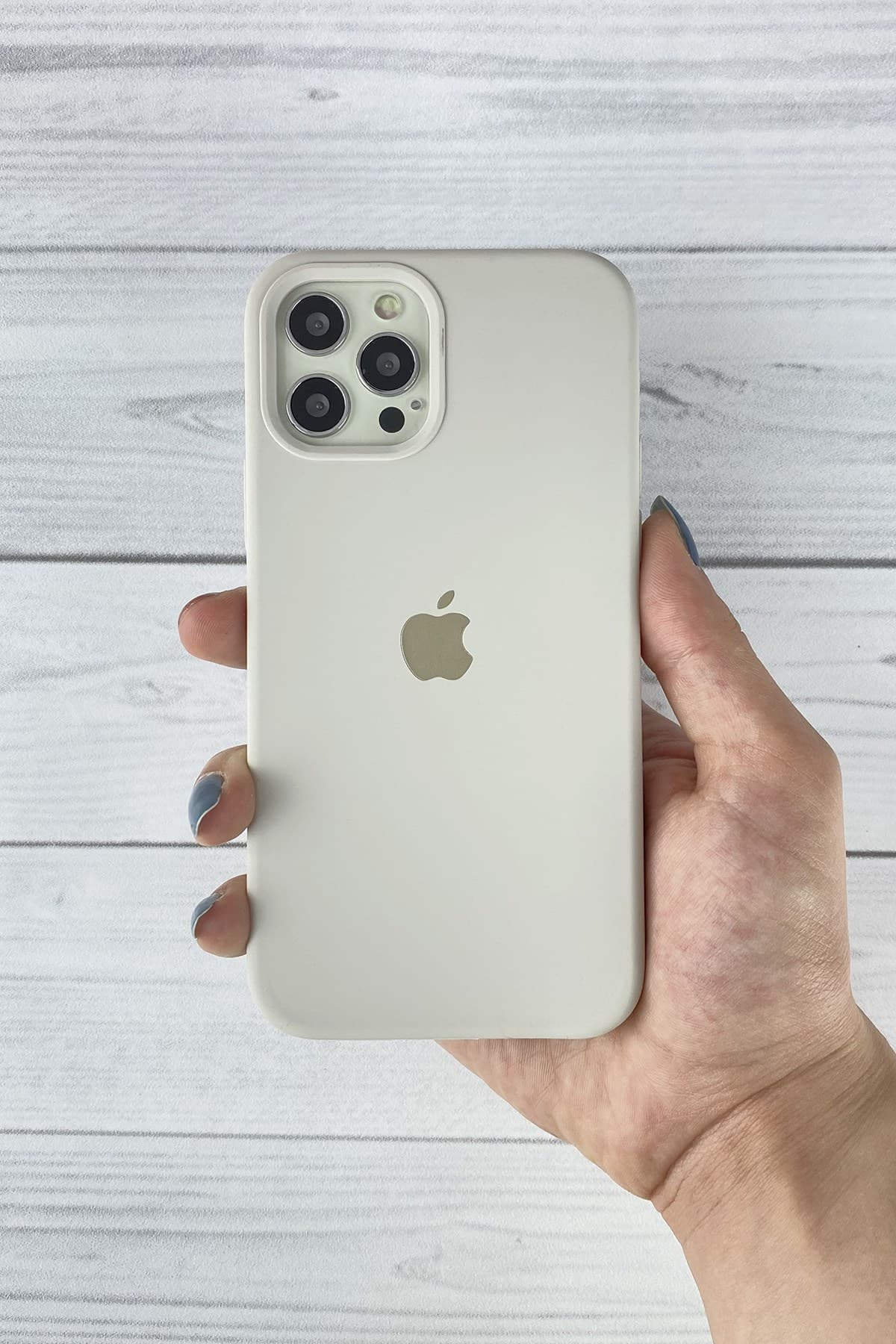 Iphone Gri Lansman Kılıf 12/12 Pro