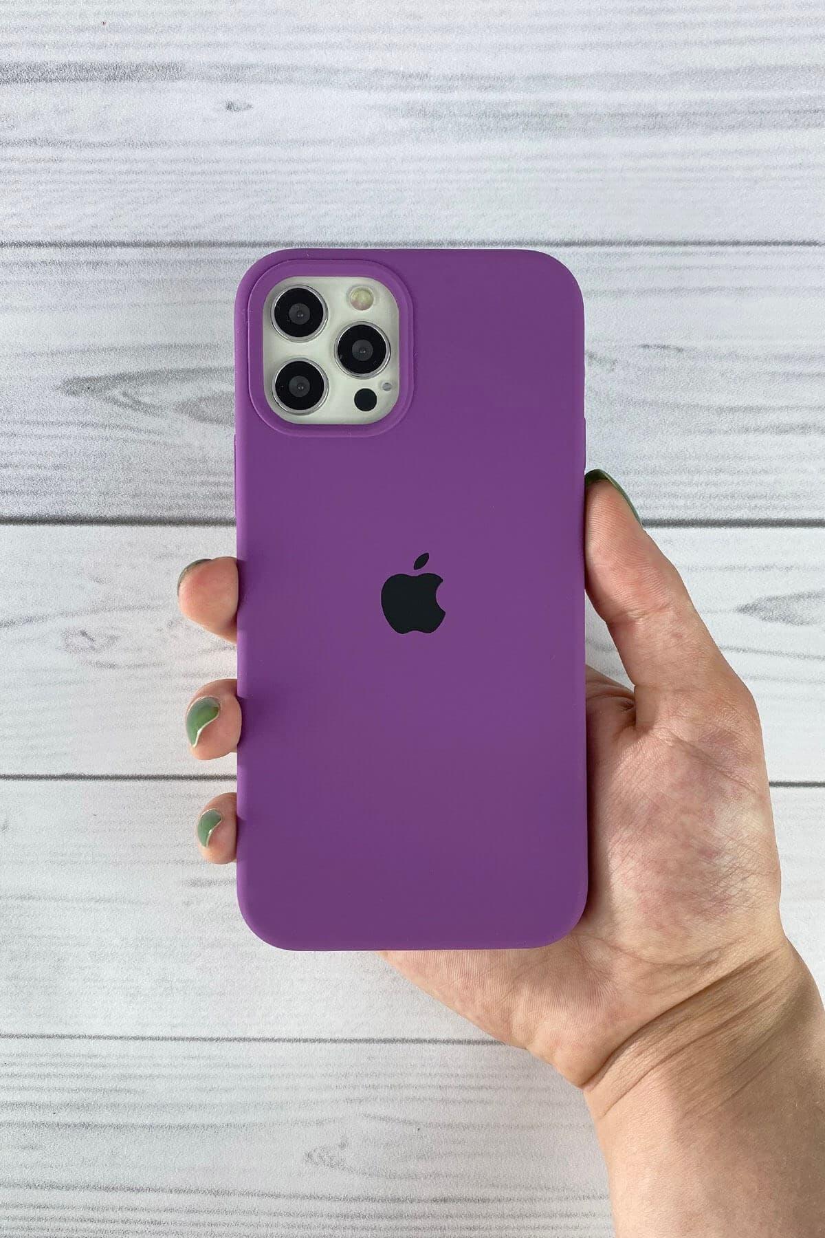 Iphone Mor Lansman Kılıf 12/12 Pro