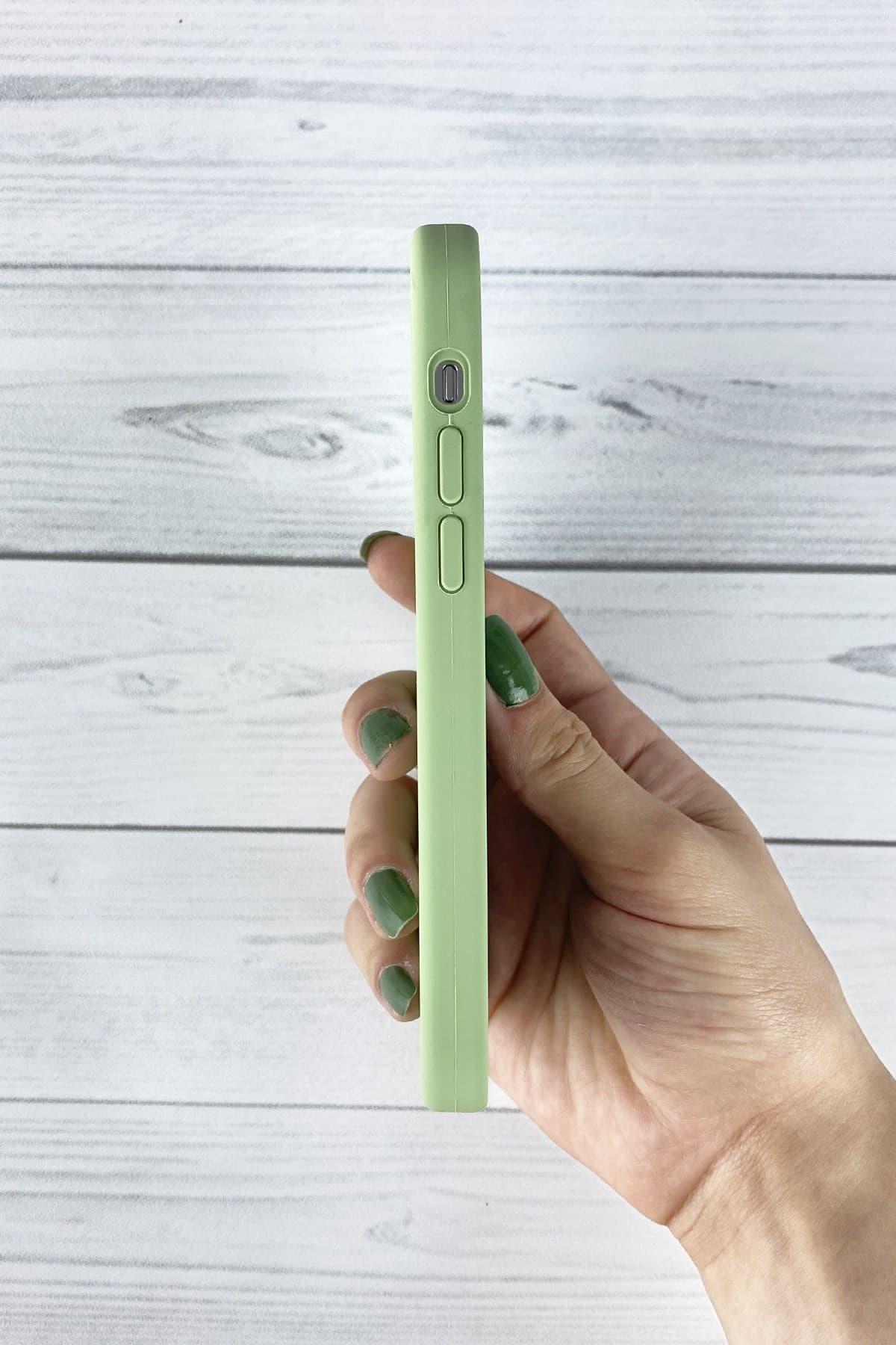 Iphone Fıstık Yeşili Lansman Kılıf 12 Mini