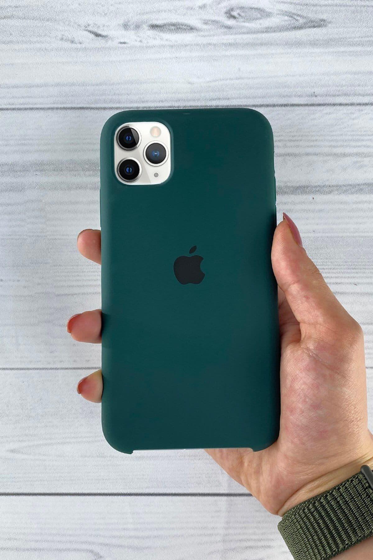 Iphone Çam Yeşili Lansman Kılıf 11 Pro