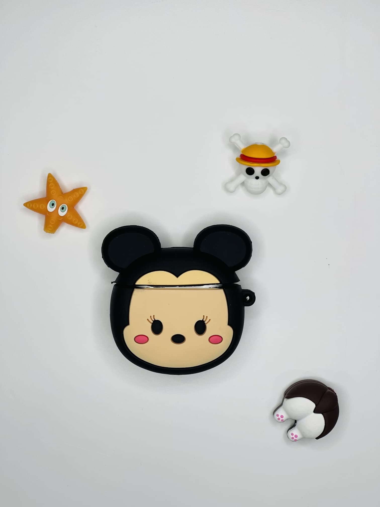 Miky Mouse Figürlü AirPods 2 Kılıfı