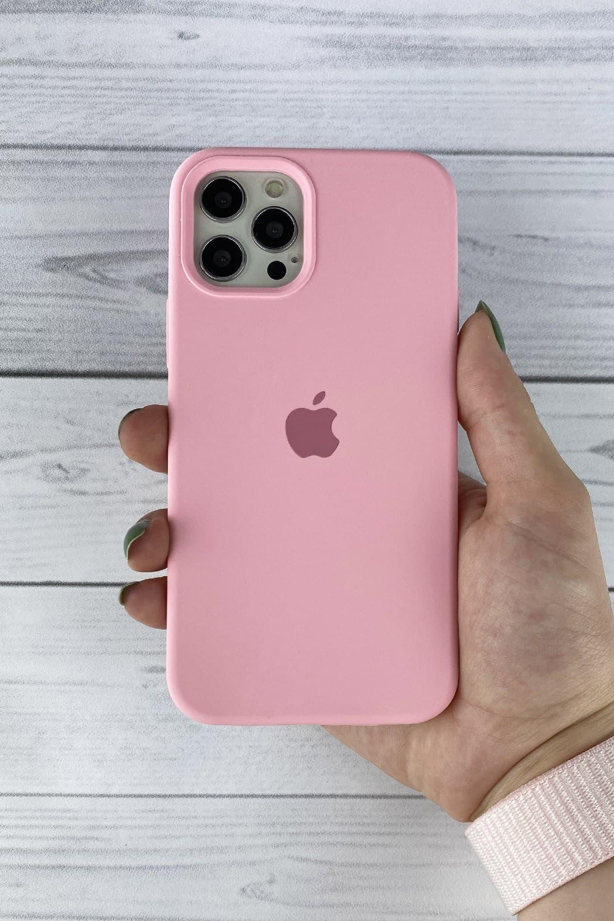 Iphone Pembe Lansman Kılıf 12 Promax
