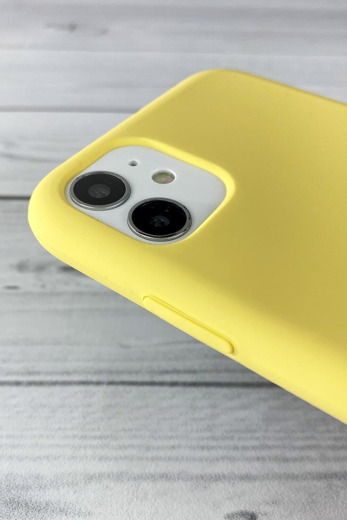 Iphone Sarı Lansman Kılıf 11