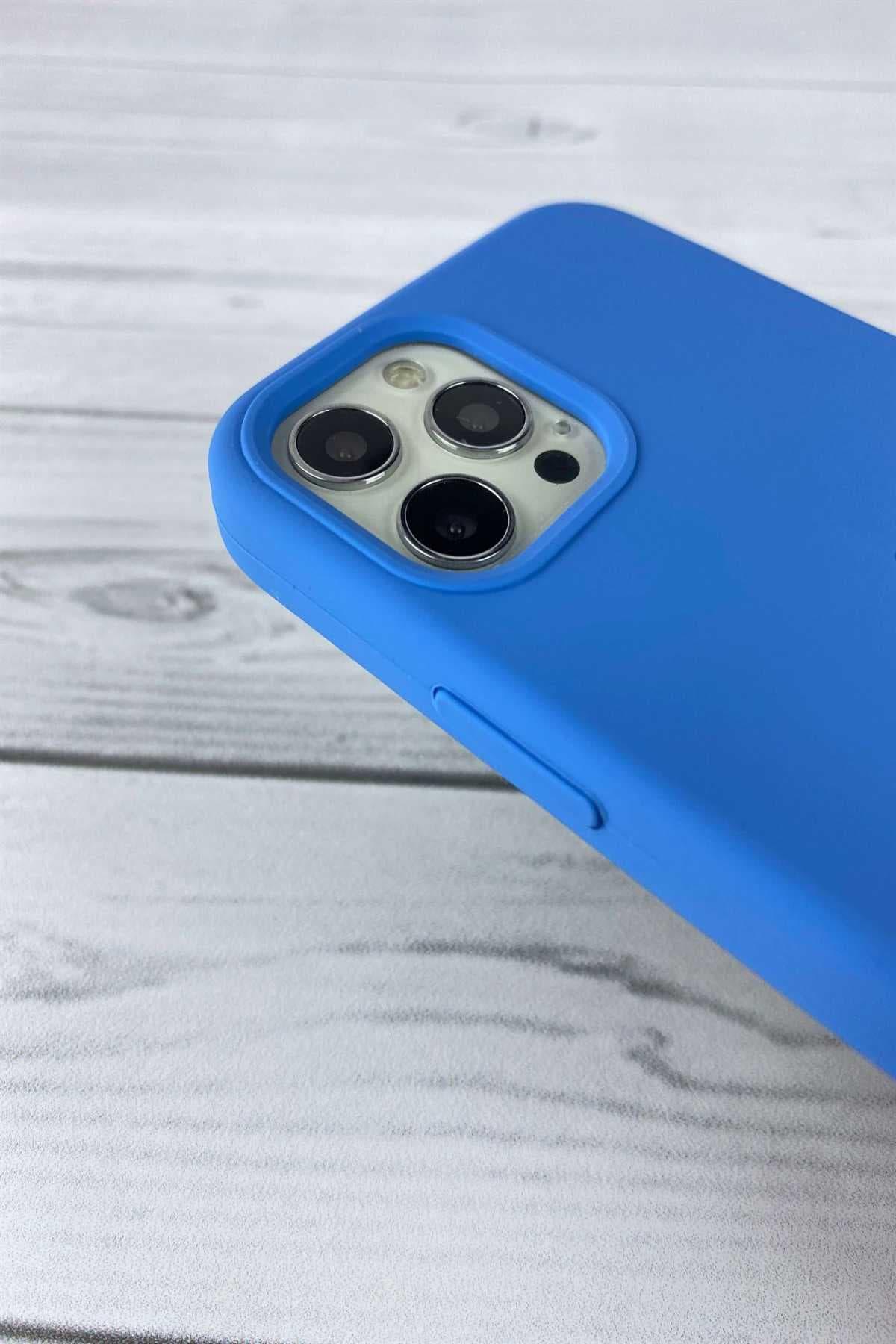 Iphone Mavi Lansman Kılıf 12/12 Pro