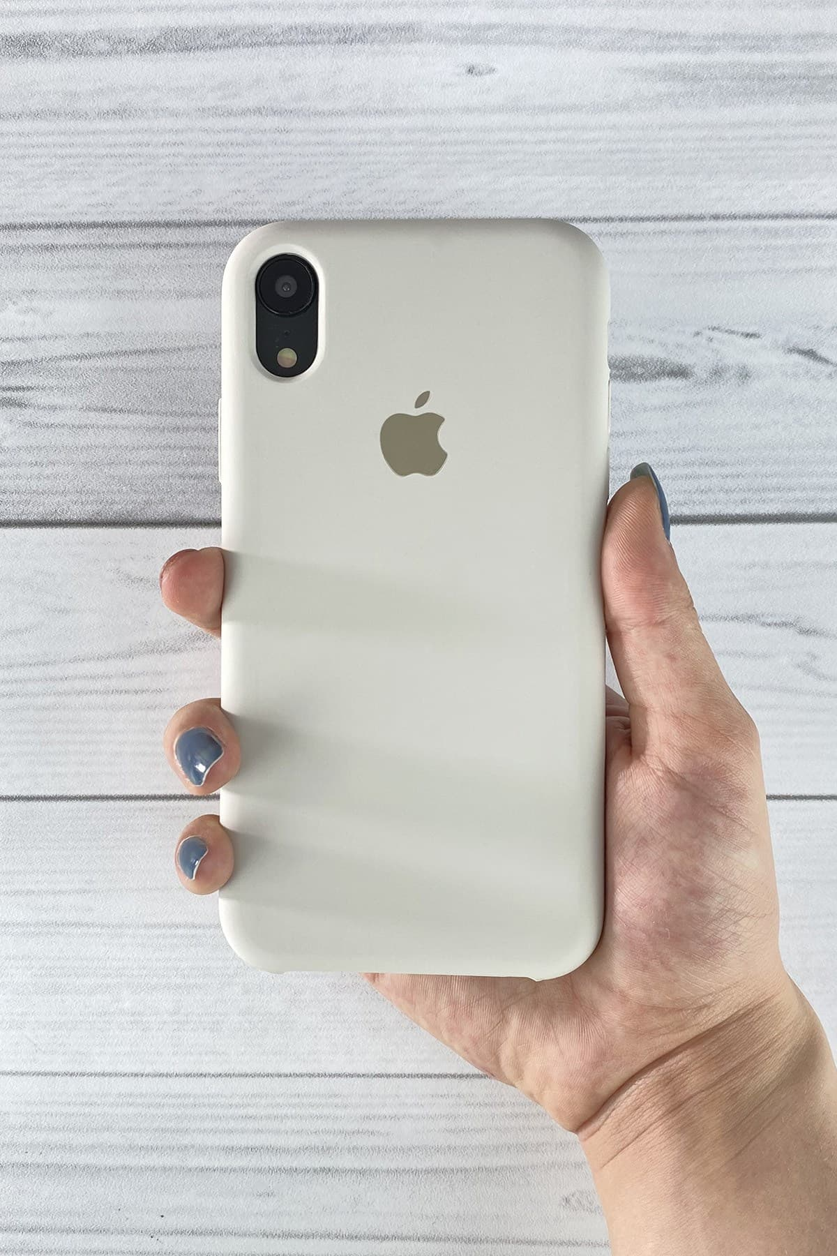Iphone Gri Lansman Kılıf Xr
