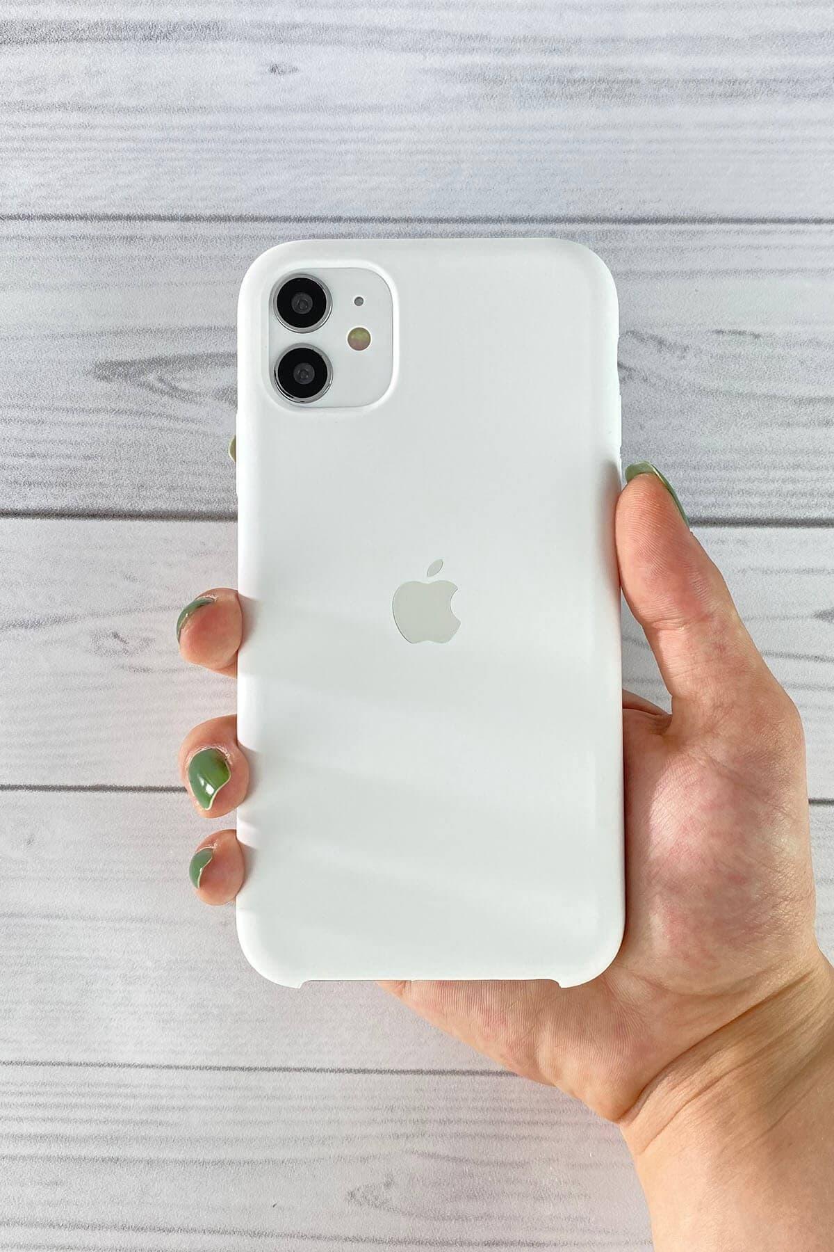 Iphone Beyaz Lansman Kılıf 11