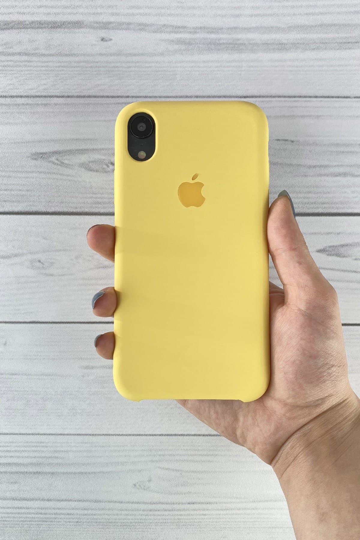 Iphone Sarı Lansman Kılıf Xr
