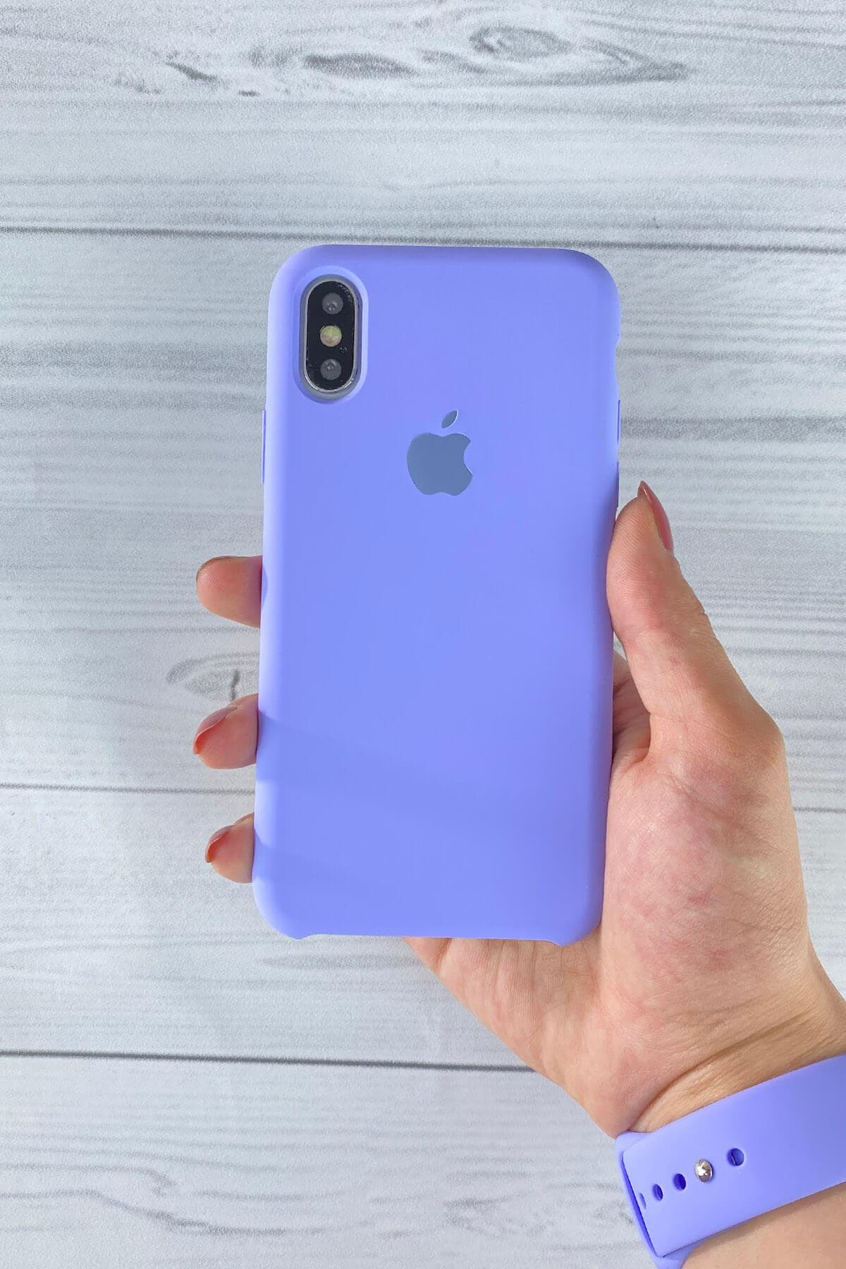 Iphone Lila Lansman Kılıf X/Xs