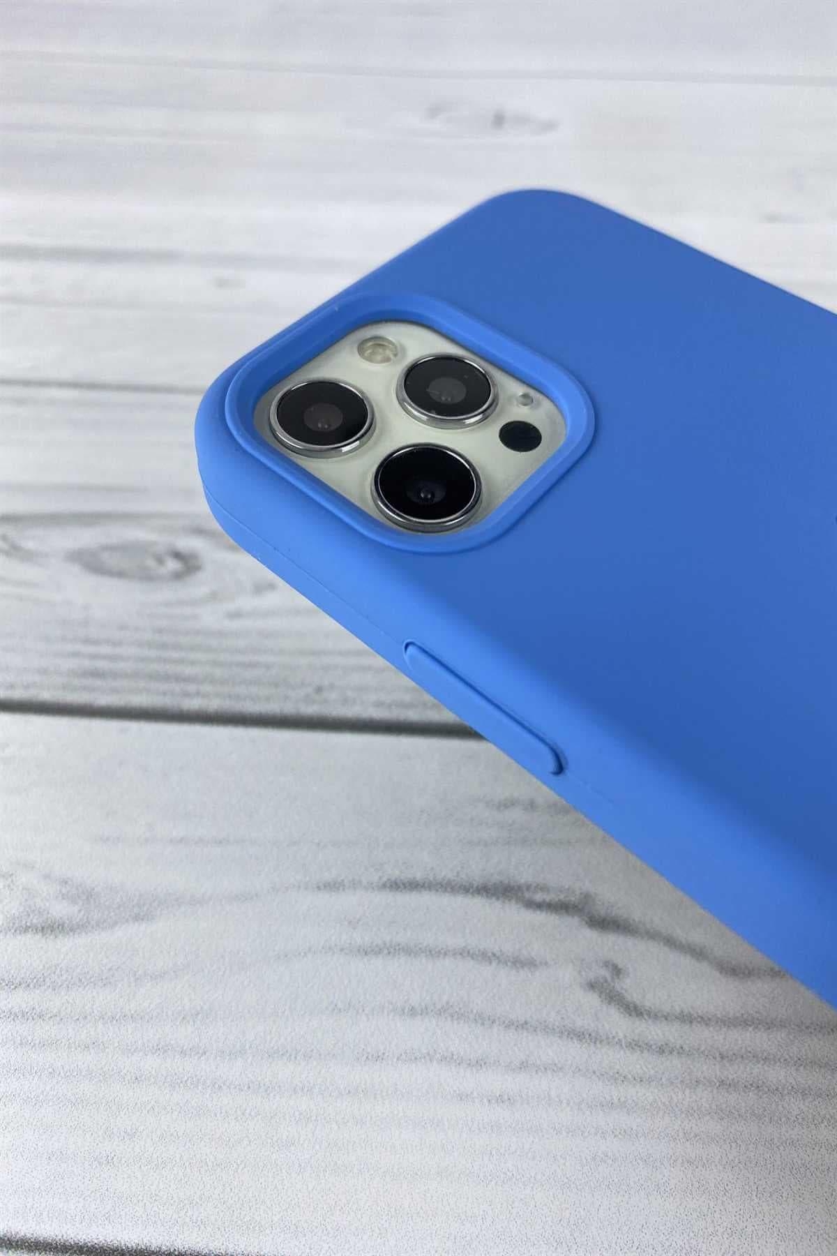 Iphone Mavi Lansman Kılıf 12 Promax