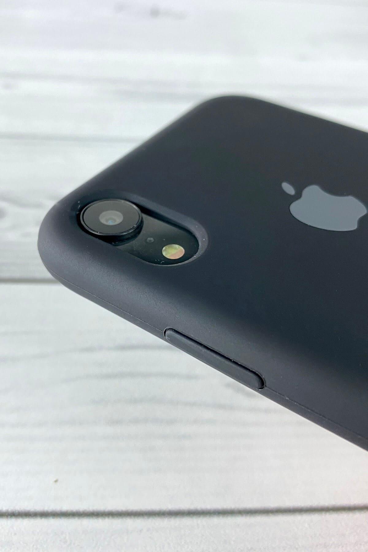 Iphone Siyah Lansman Kılıf Xr