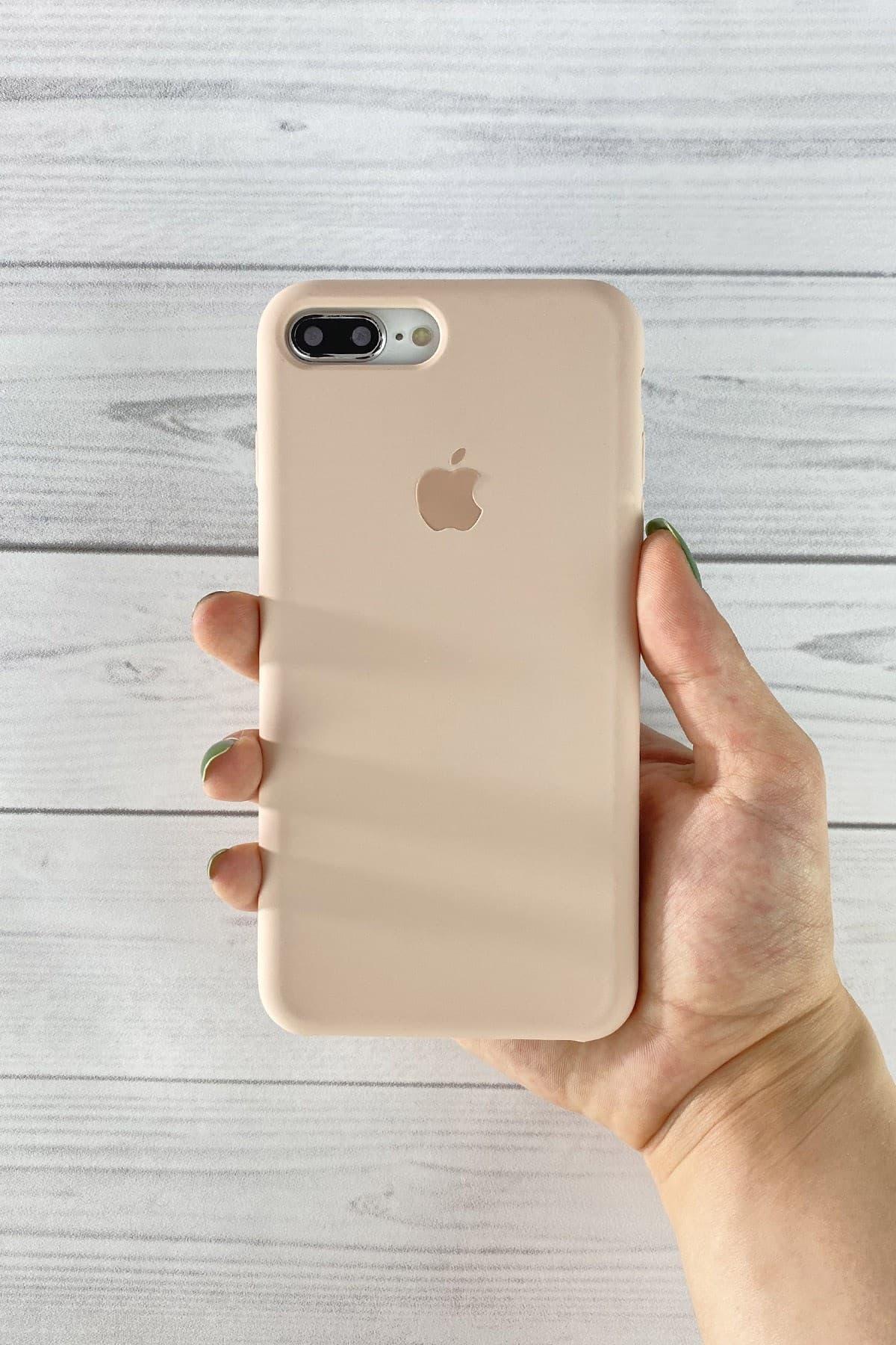 Iphone Toz Pembe Lansman Kılıf 7 Plus/8 Plus