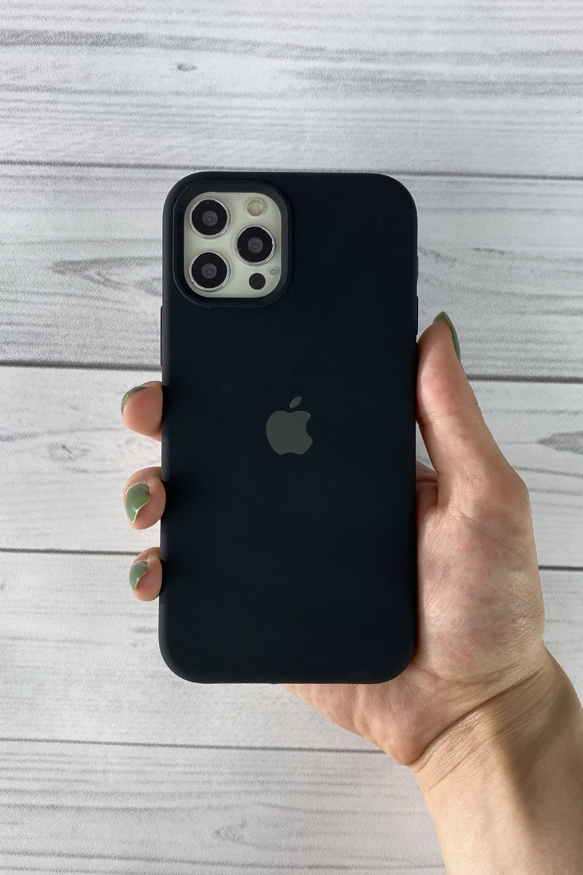 Iphone Siyah Lansman Kılıf 12 Promax