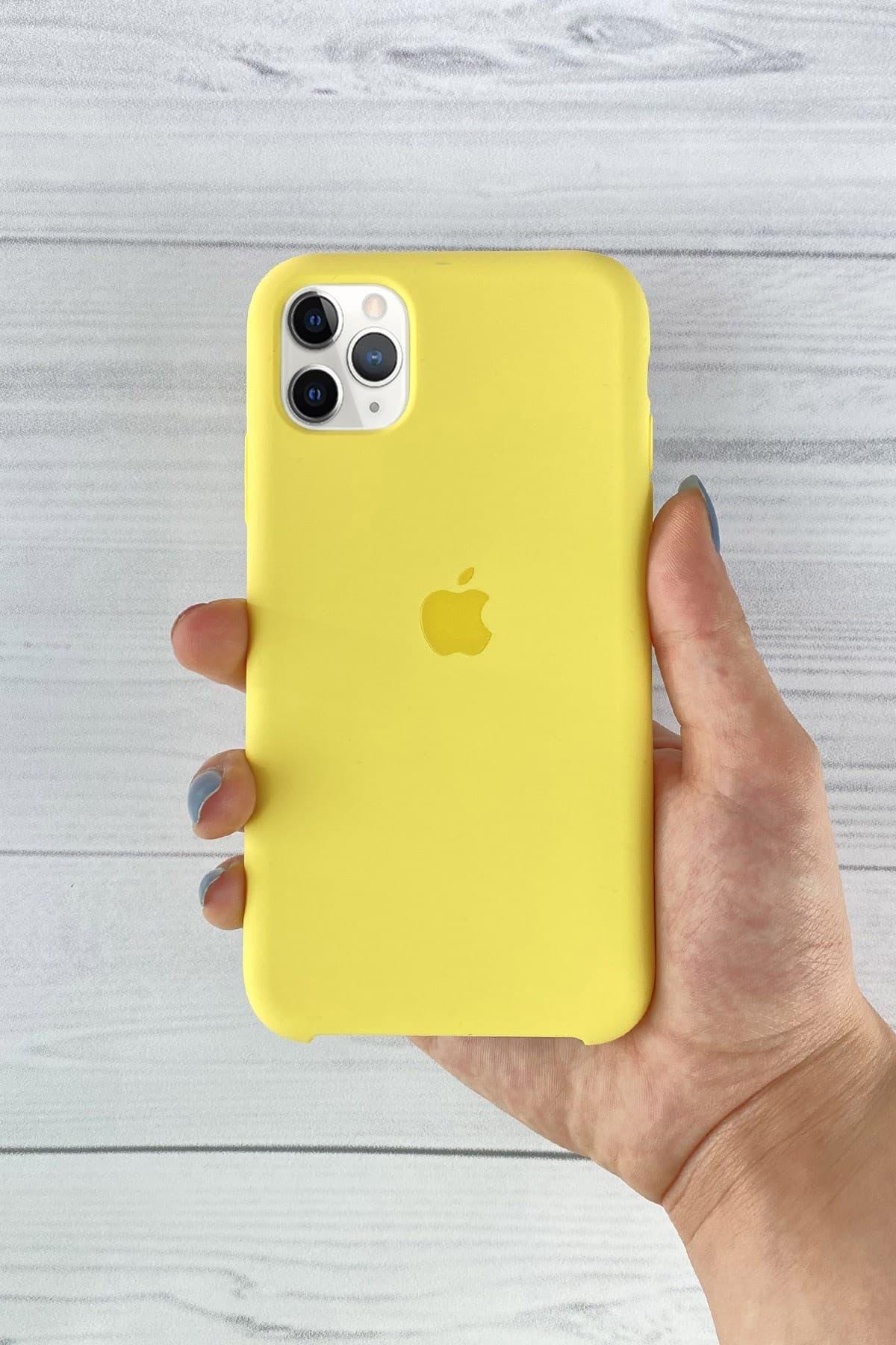 Iphone Sarı Lansman Kılıf 11 Pro