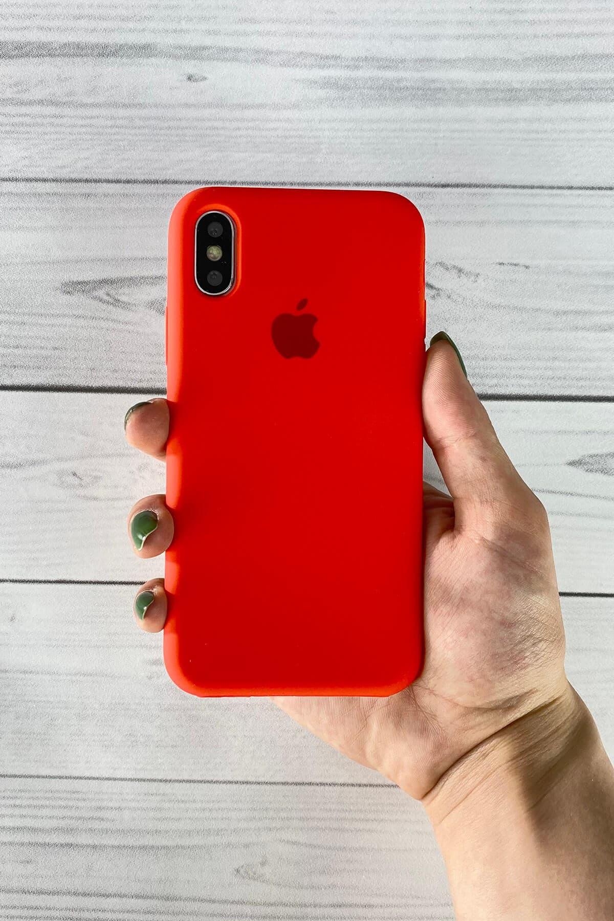 Iphone Kırmızı Lansman Kılıf X/Xs
