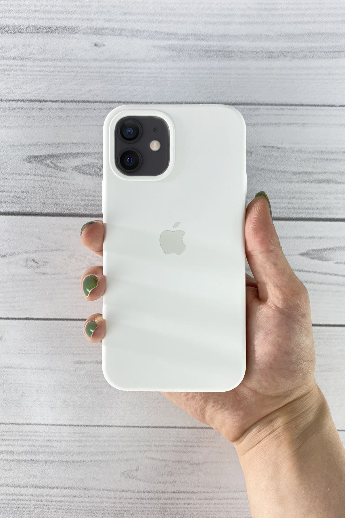 Iphone Beyaz Lansman Kılıf 12 Mini
