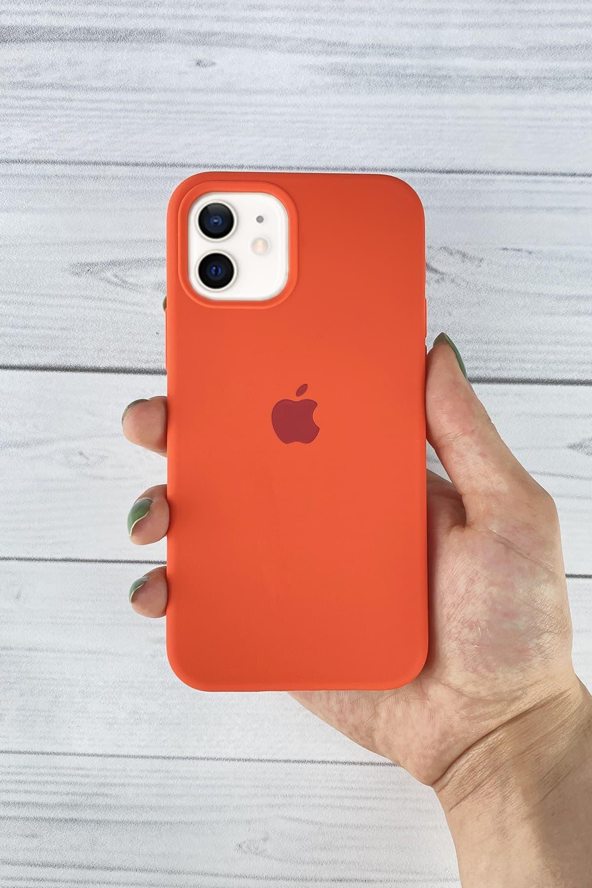 Iphone Turuncu Lansman Kılıf 12 Mini