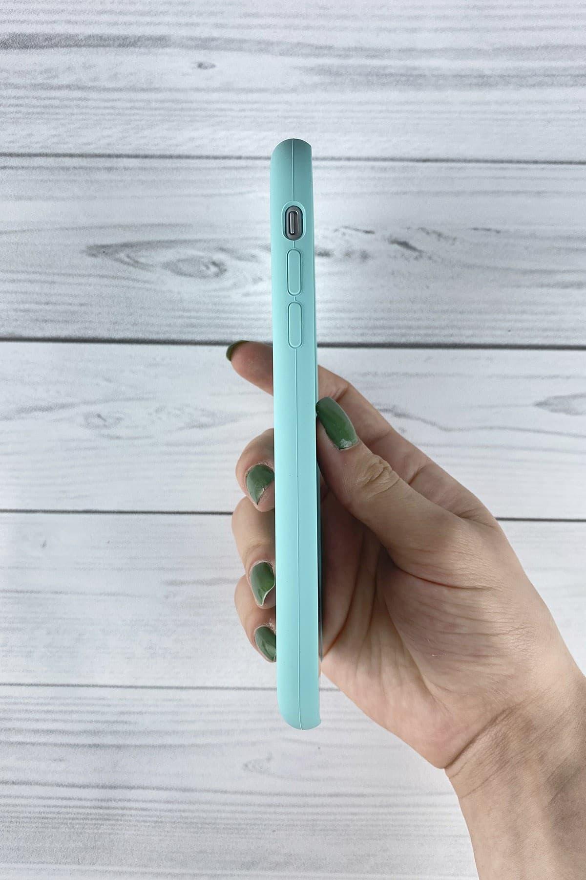 Iphone Turkuaz Lansman Kılıf 11