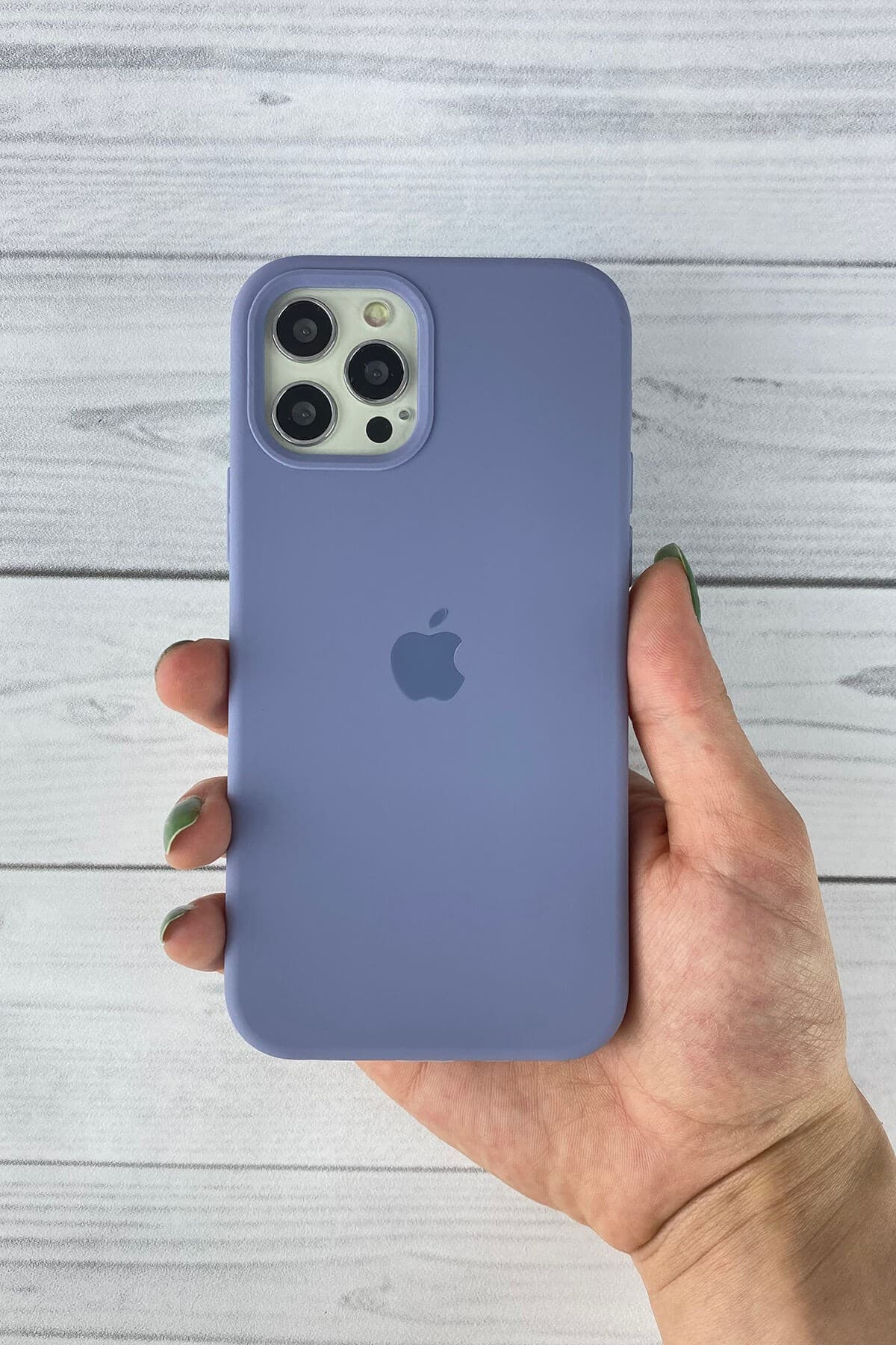 Iphone Lavanta Grisi Lansman Kılıf 12/12 Pro