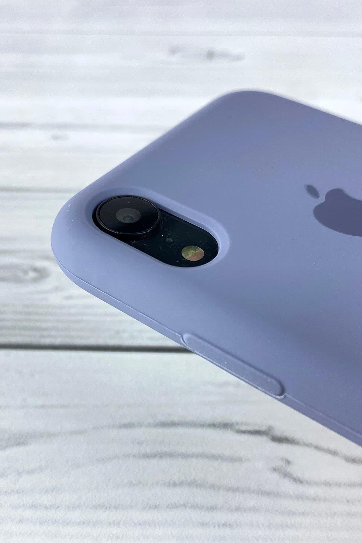 Iphone Lavanta Grisi Lansman Kılıf Xr