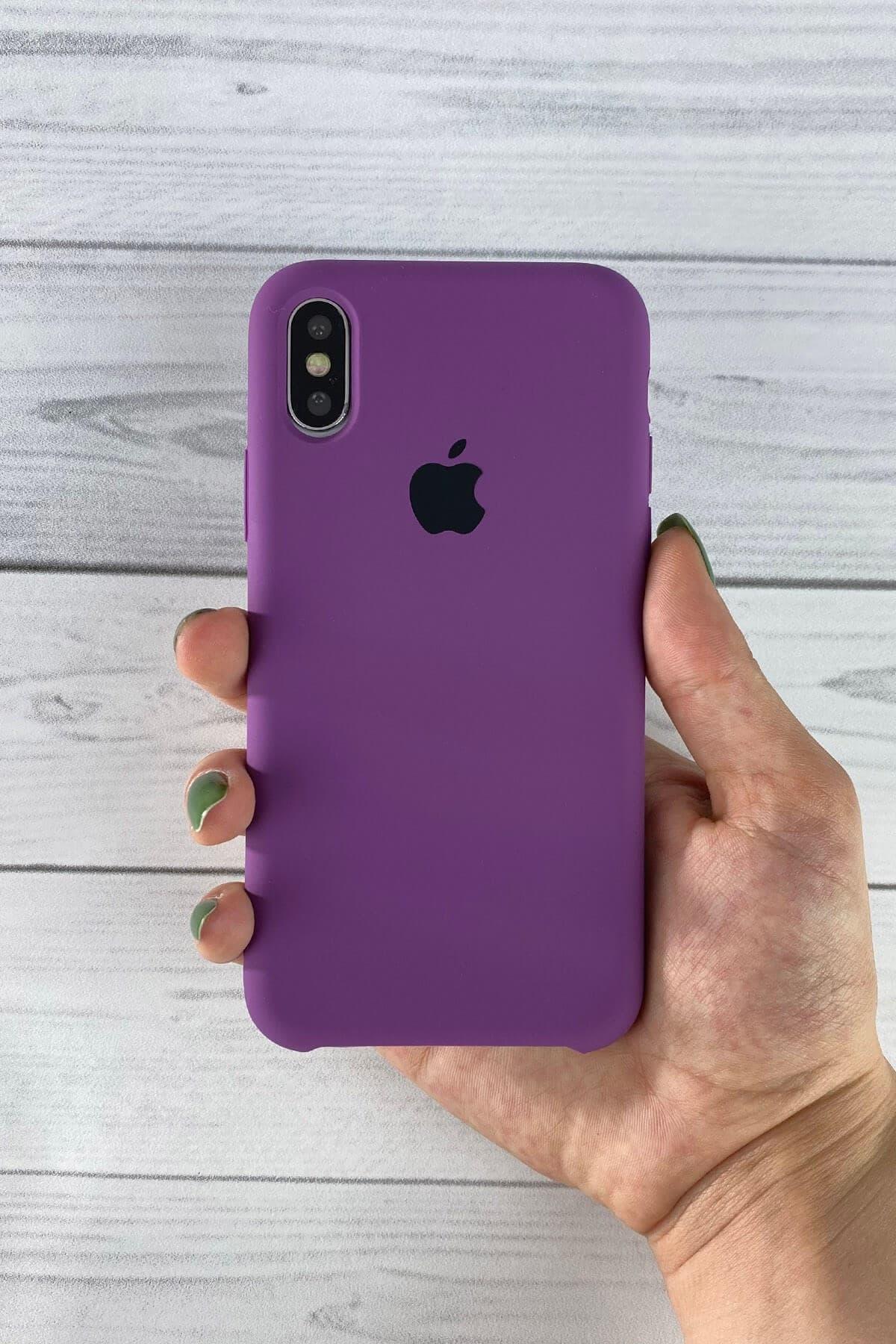 Iphone Mor Lansman Kılıf Xs-max