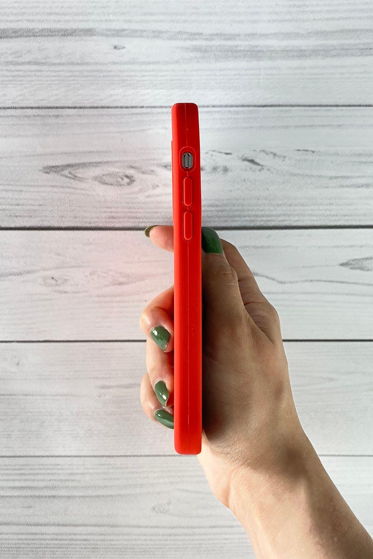 Iphone Kırmızı Lansman Kılıf 12 Mini