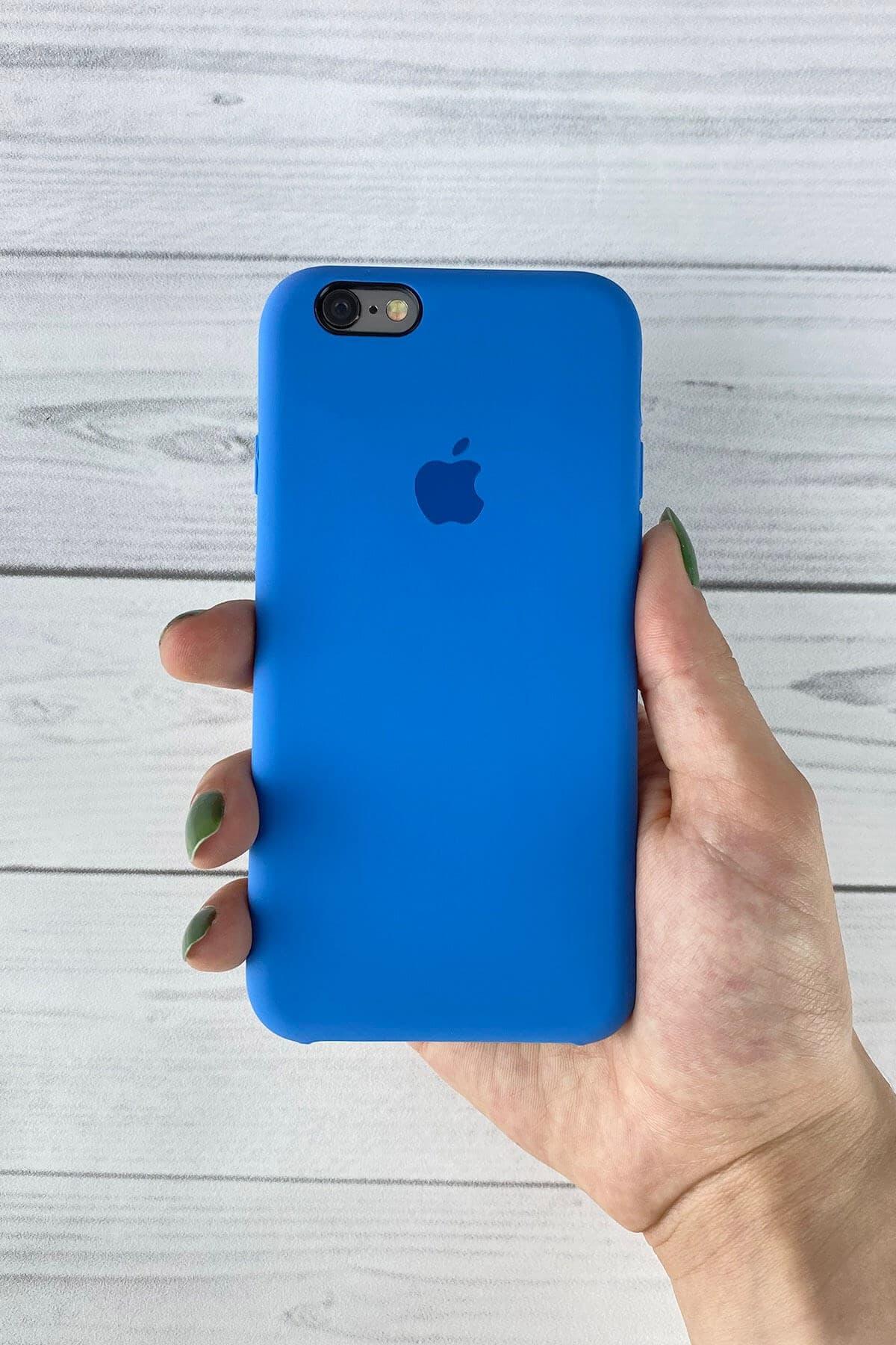 Iphone Mavi Lansman Kılıf 6/6s