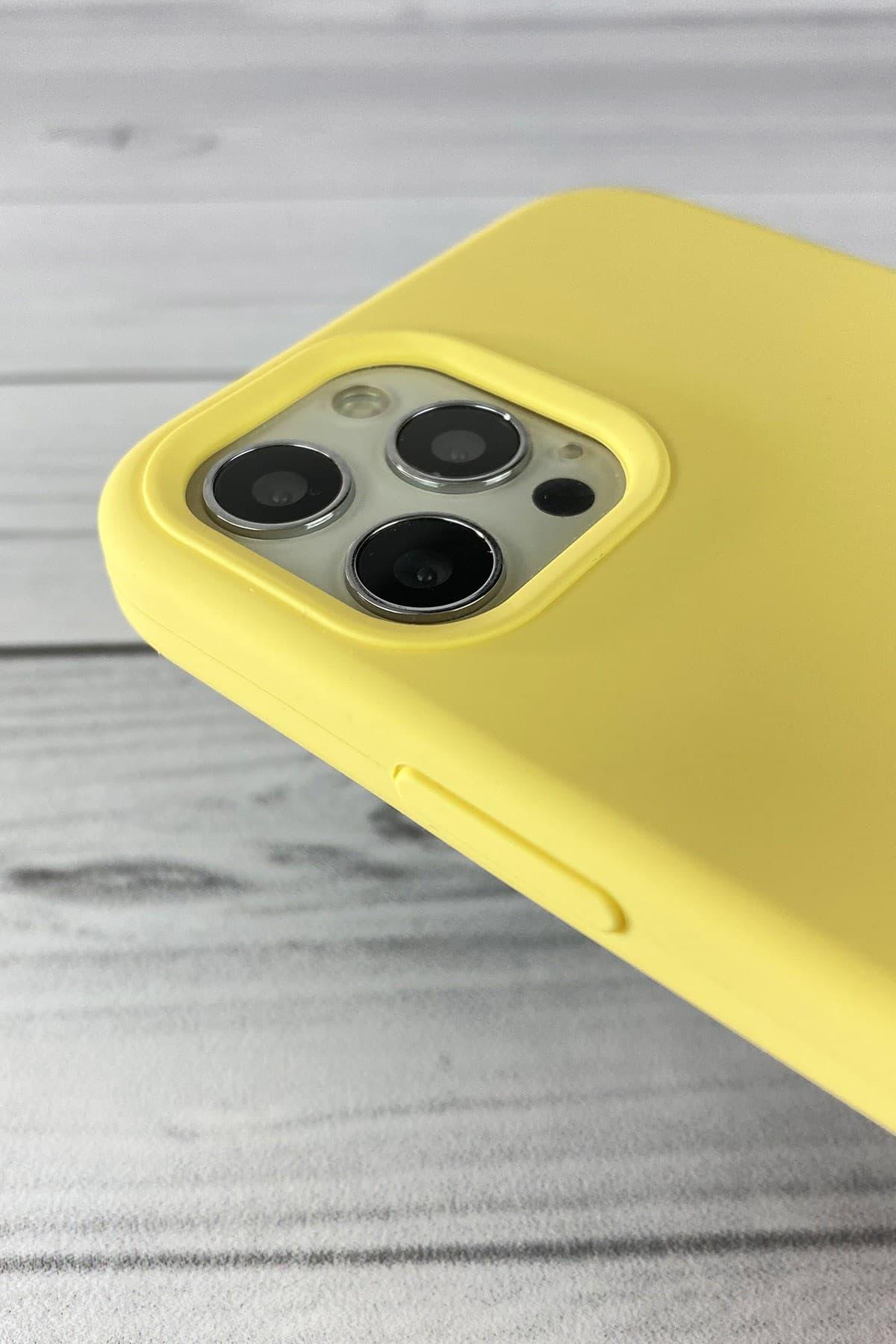 Iphone Sarı Lansman Kılıf 12 Promax